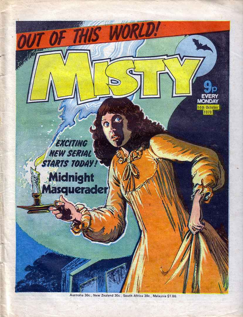 Read online Misty comic -  Issue #37 - 1