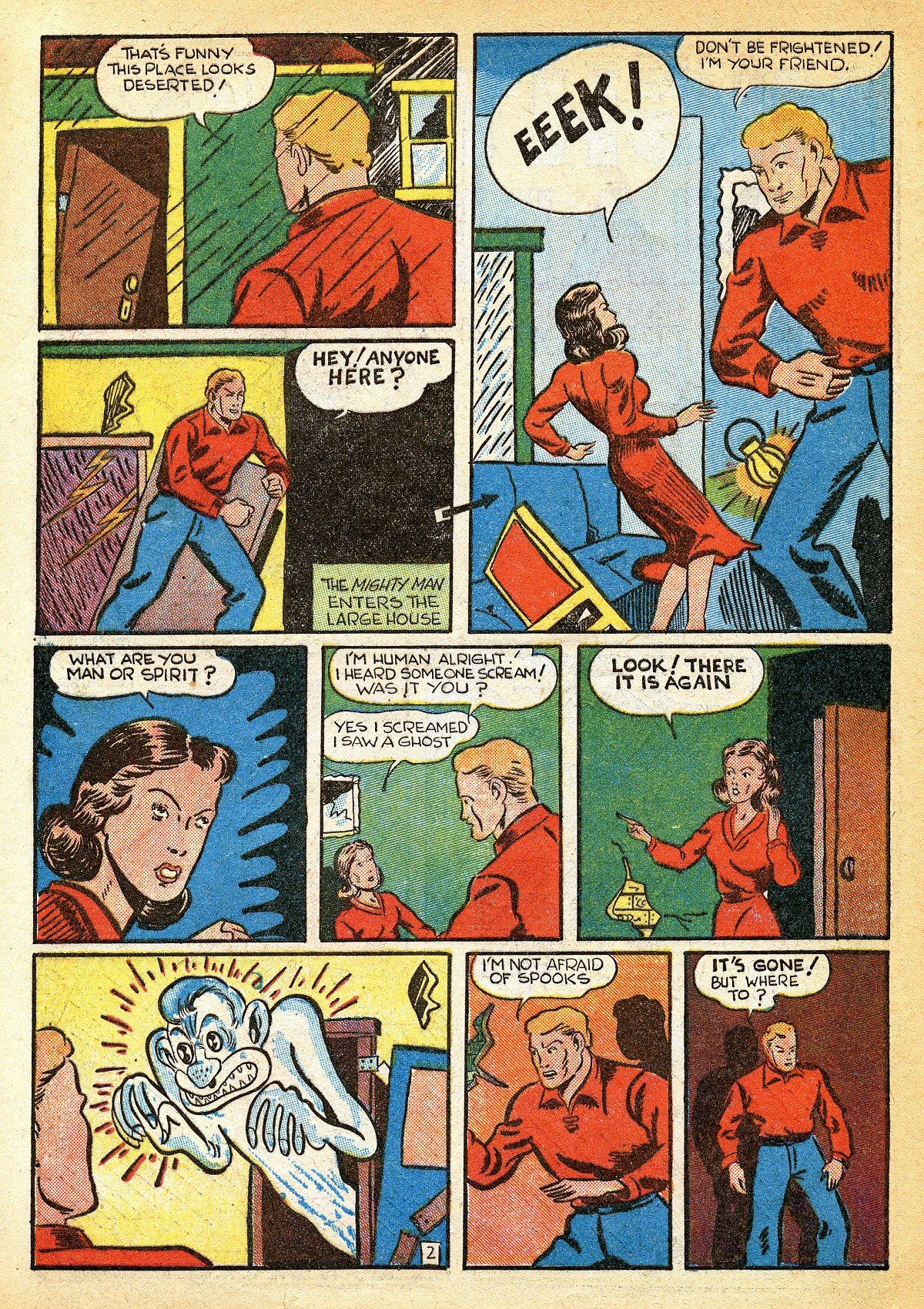 Read online Amazing Man Comics comic -  Issue #10 - 53