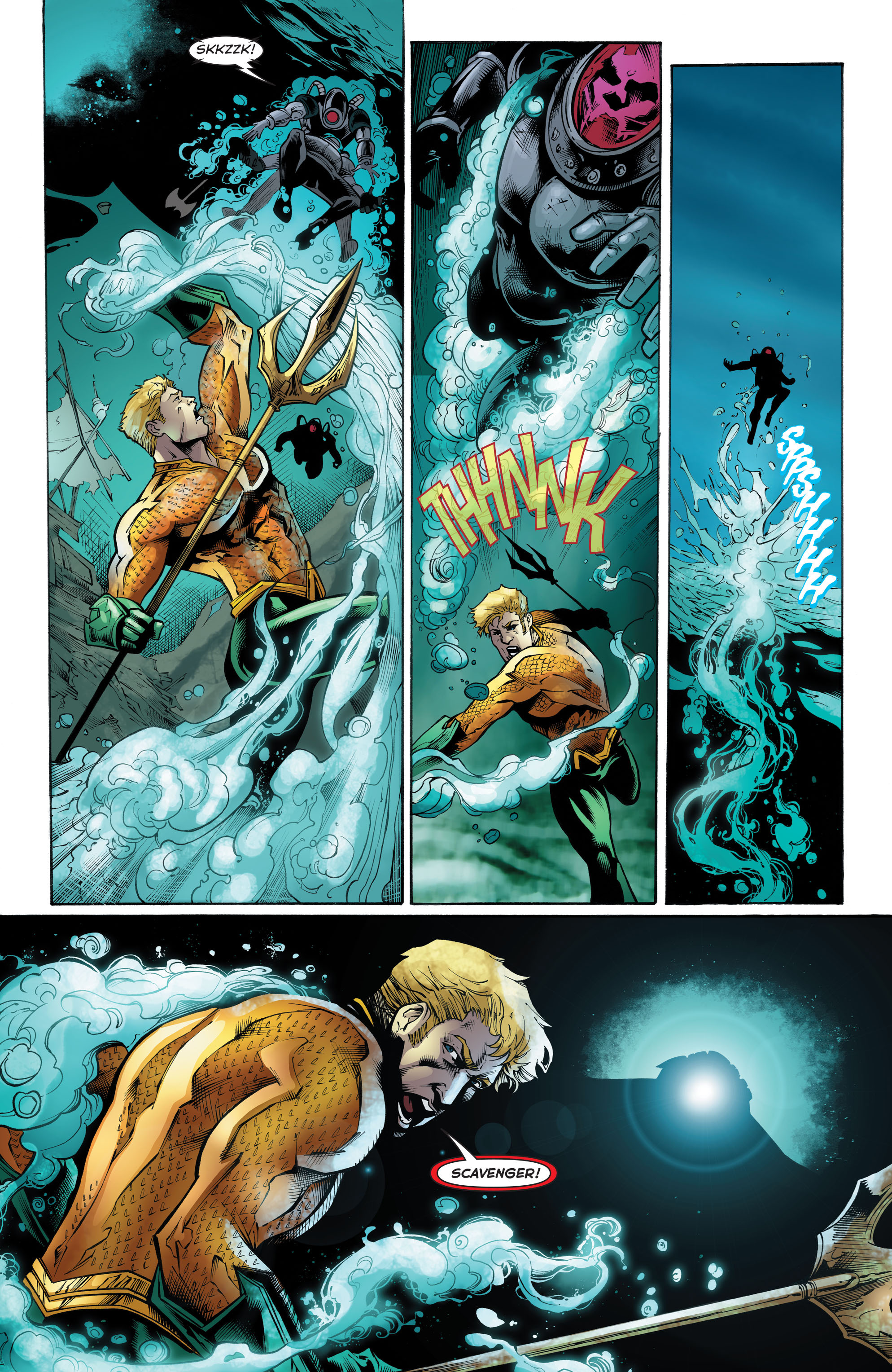 Read online Aquaman (2011) comic -  Issue #51 - 18