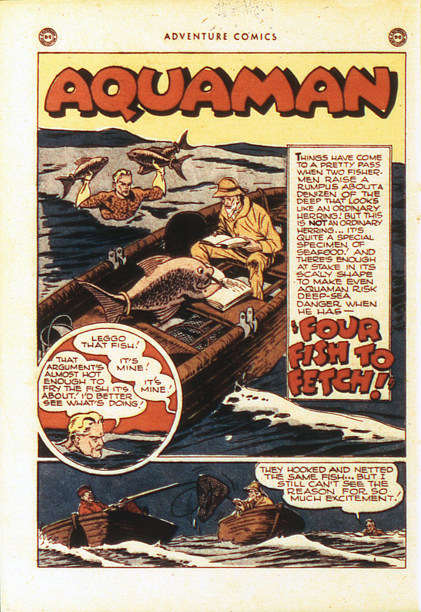 Read online Adventure Comics (1938) comic -  Issue #104 - 23