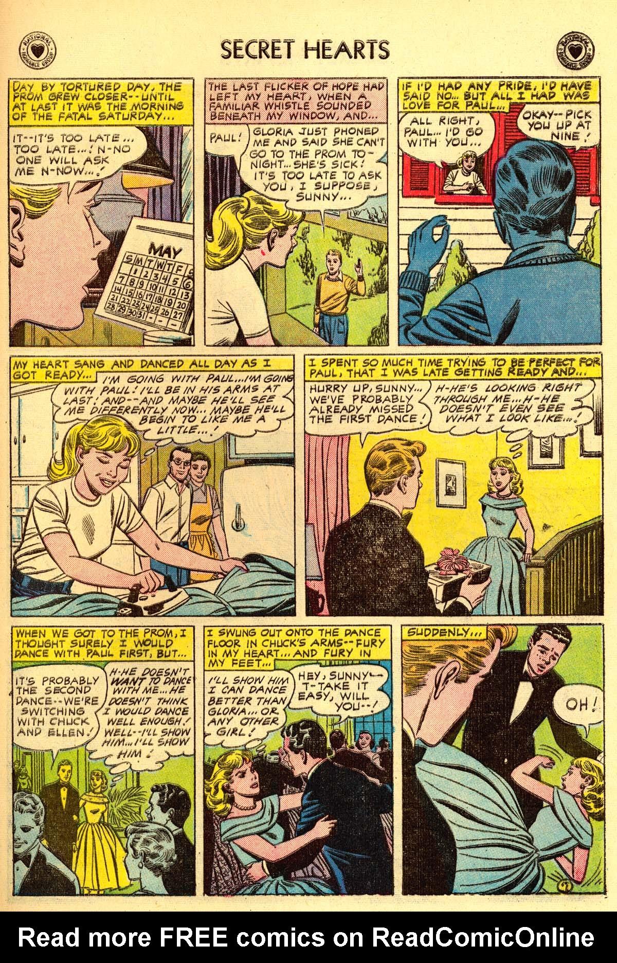 Read online Secret Hearts comic -  Issue #43 - 33
