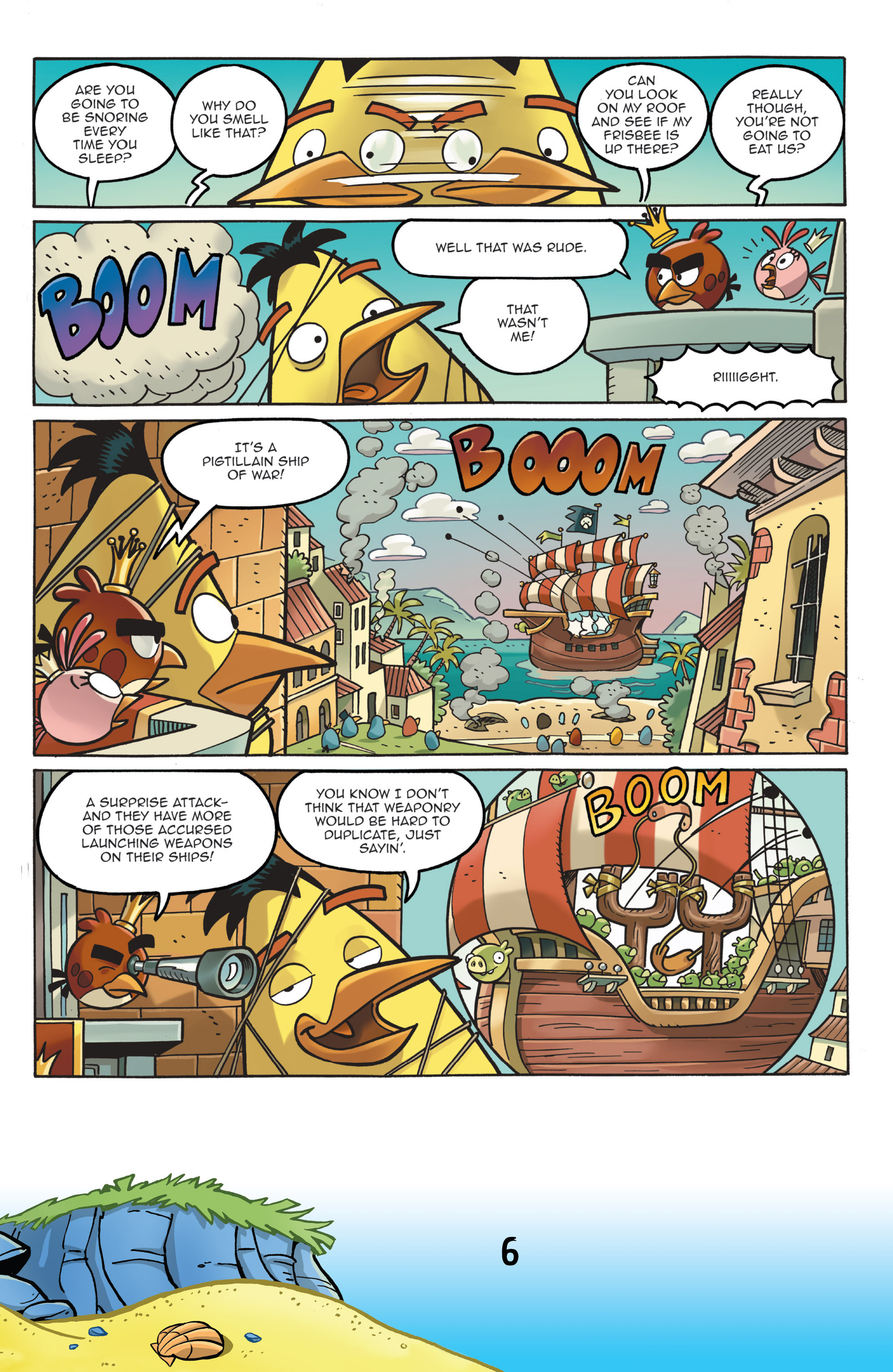 Read online Angry Birds Comics (2016) comic -  Issue #7 - 8
