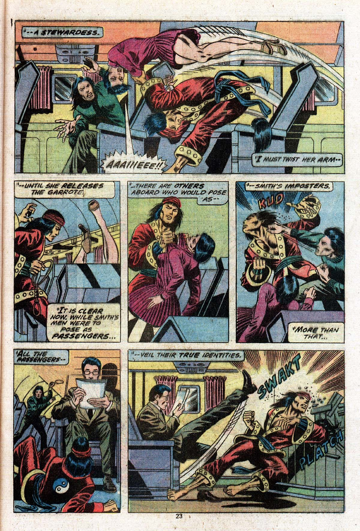 Read online Giant-Size Master of Kung Fu comic -  Issue #2 - 19