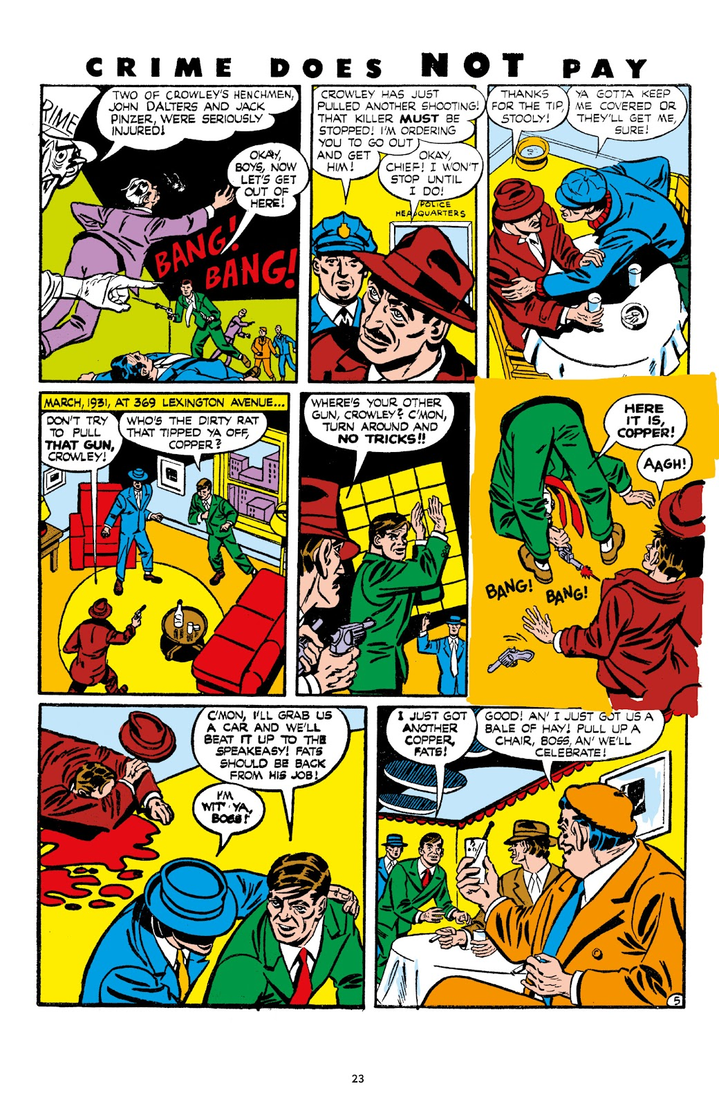 Read online Crime Does Not Pay Archives comic -  Issue # TPB 7 (Part 1) - 25