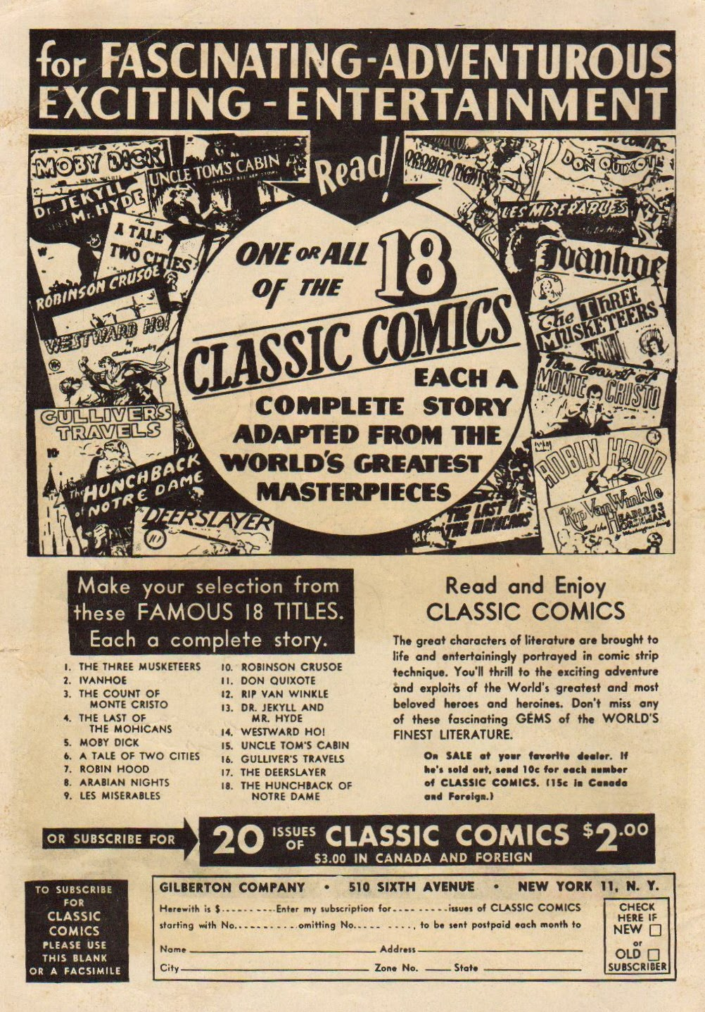 Classics Illustrated 19 Page 2