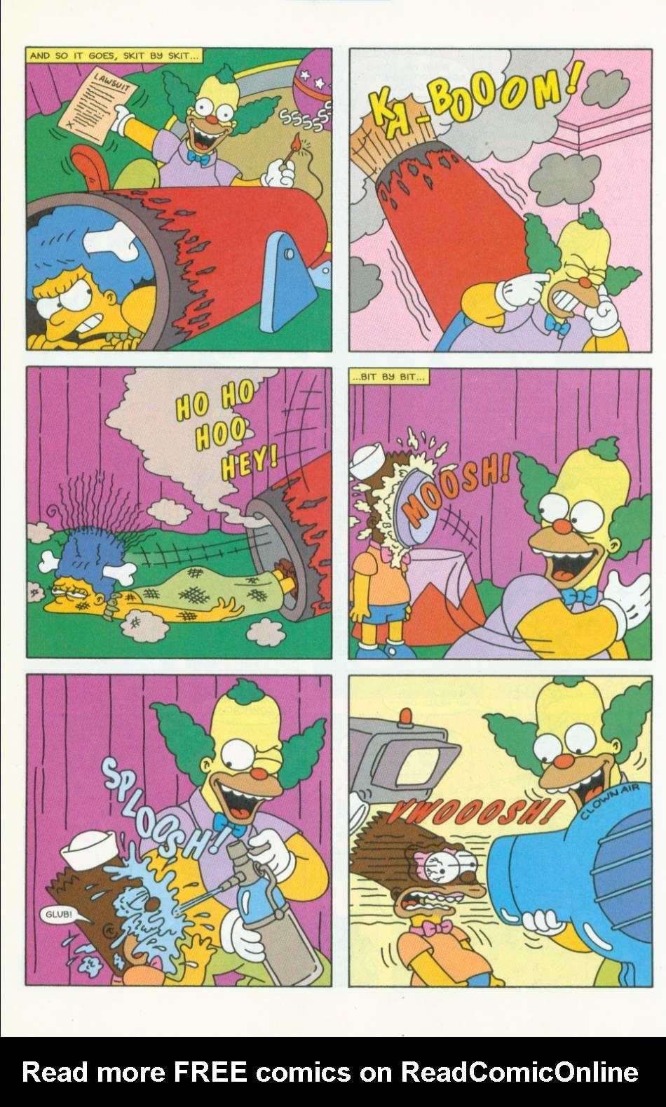 Read online Simpsons Comics comic -  Issue #40 - 17