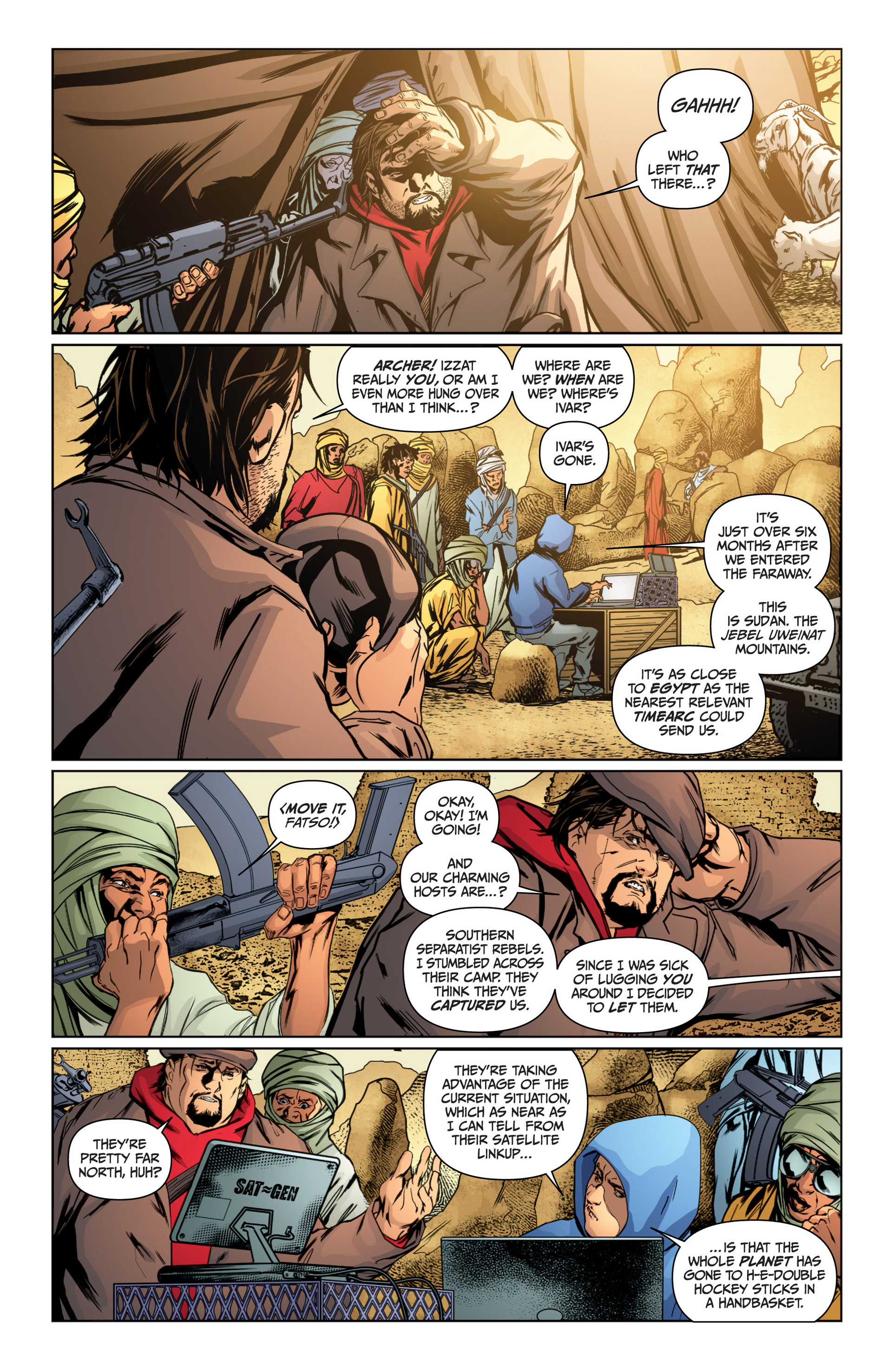 Read online Archer and Armstrong comic -  Issue #16 - 11