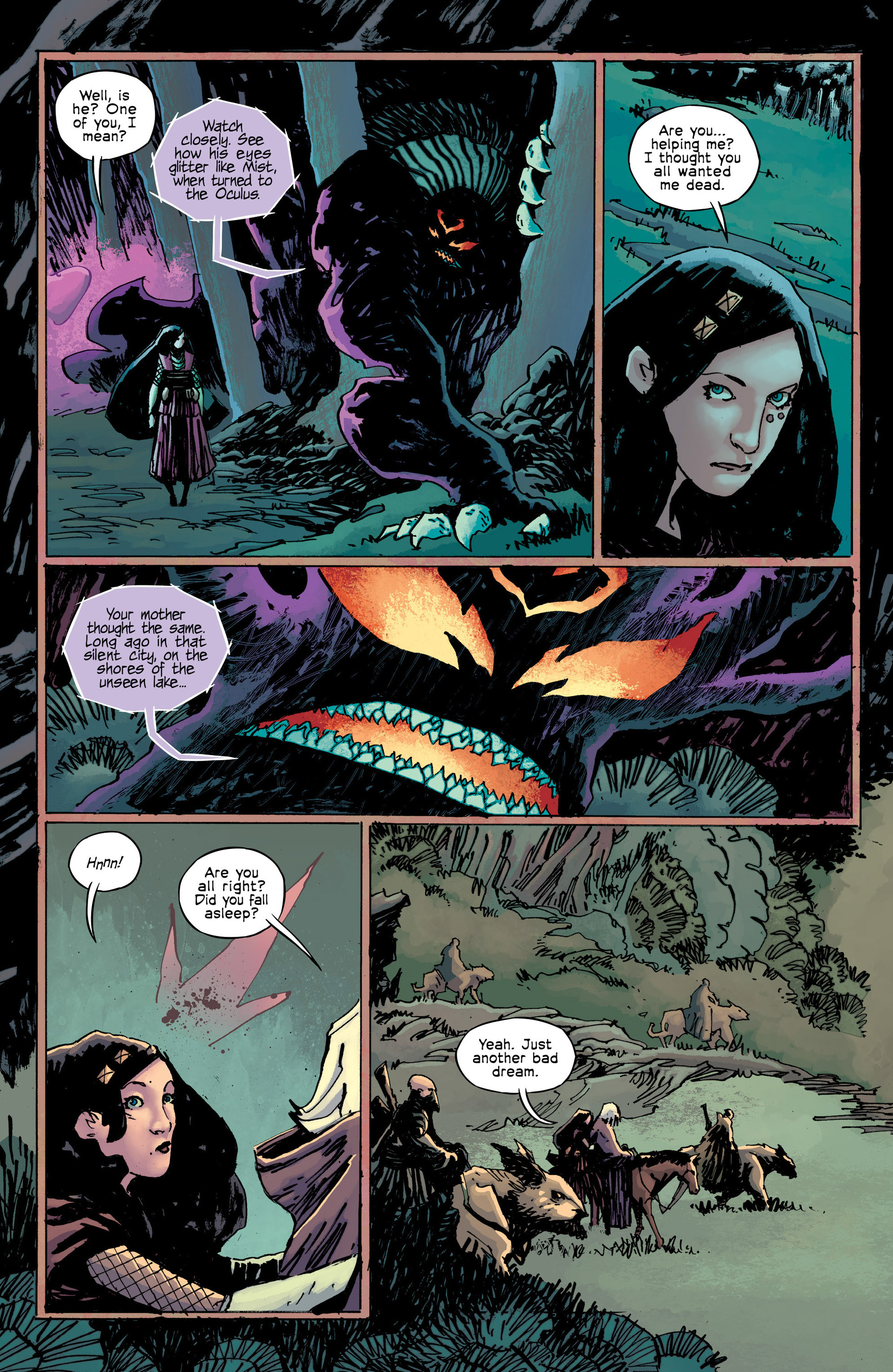 Read online Umbral comic -  Issue #9 - 14