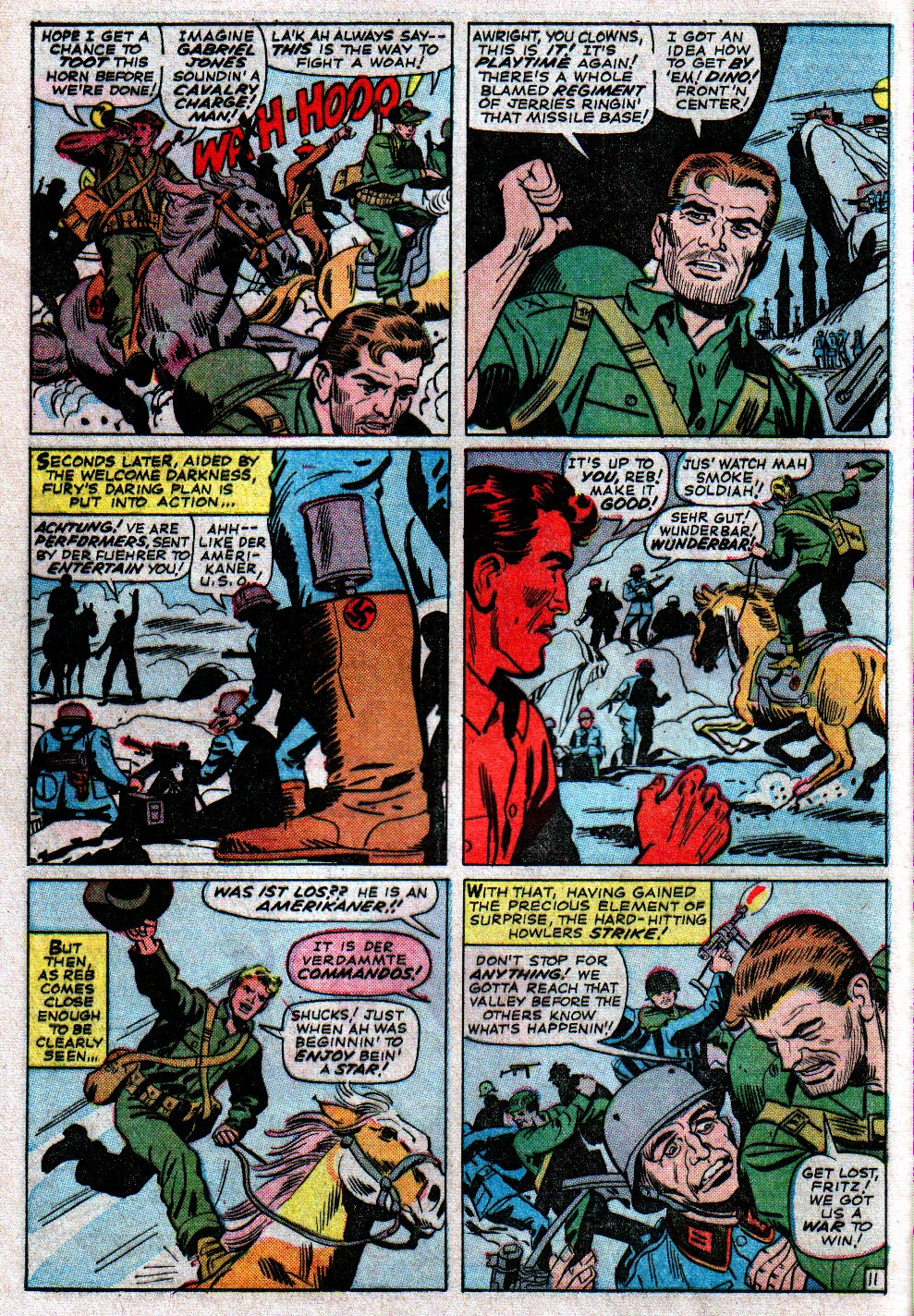 Read online Sgt. Fury comic -  Issue #14 - 16