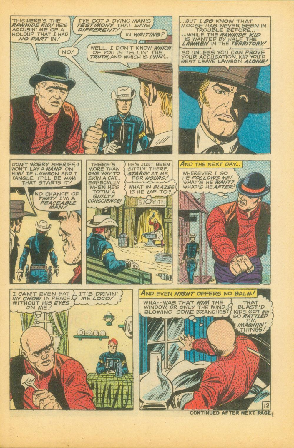 The Rawhide Kid (1955) issue 73 - Page 22
