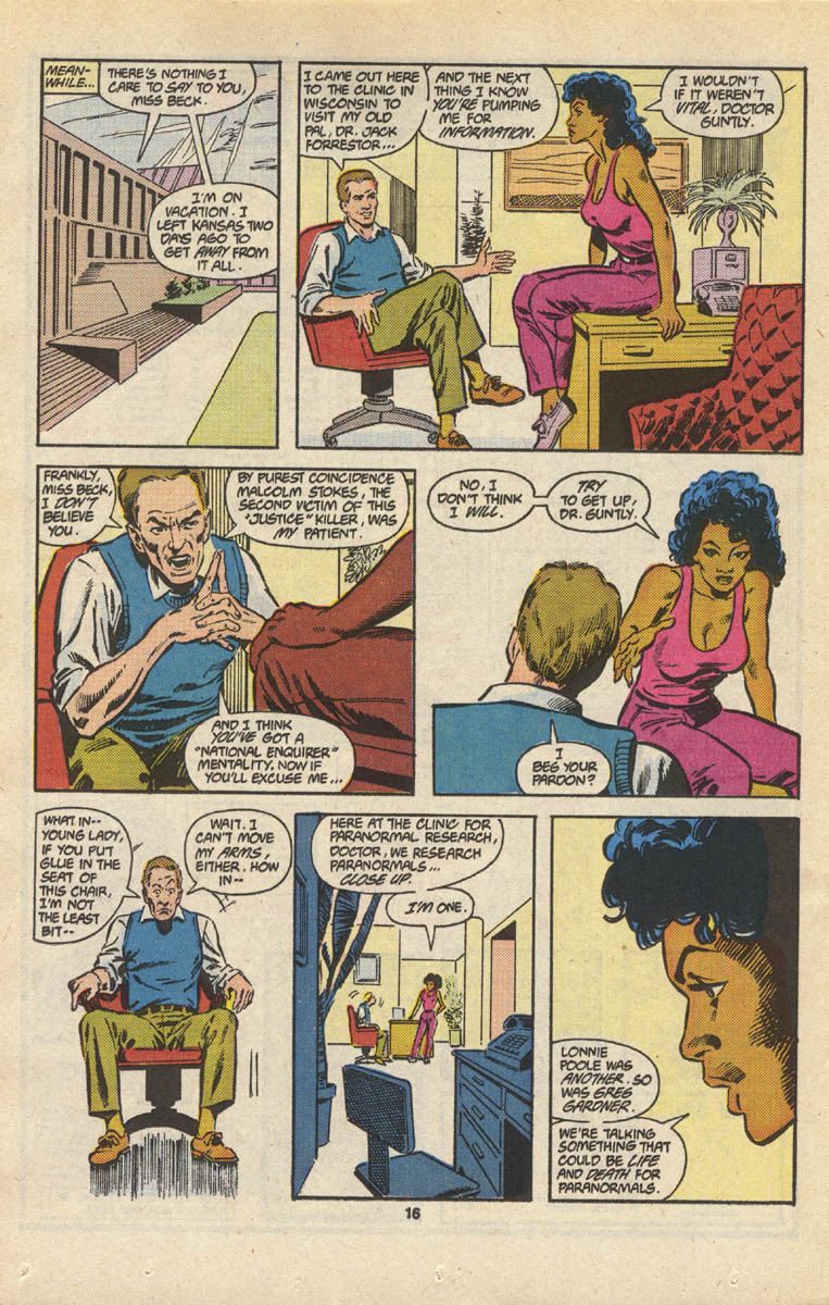 Read online Justice (1986) comic -  Issue #16 - 17