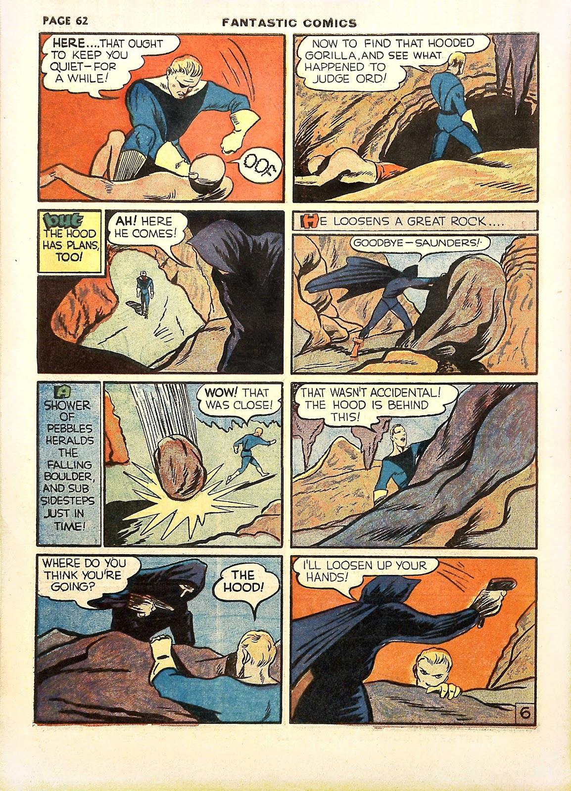 Read online Fantastic Comics comic -  Issue #11 - 65