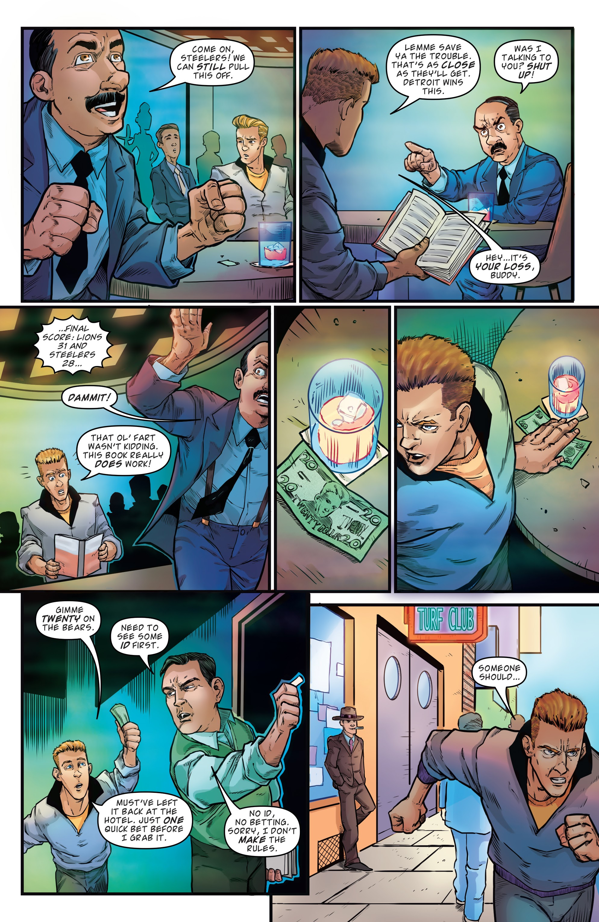 Read online Back to the Future: Biff to the Future comic -  Issue #1 - 6