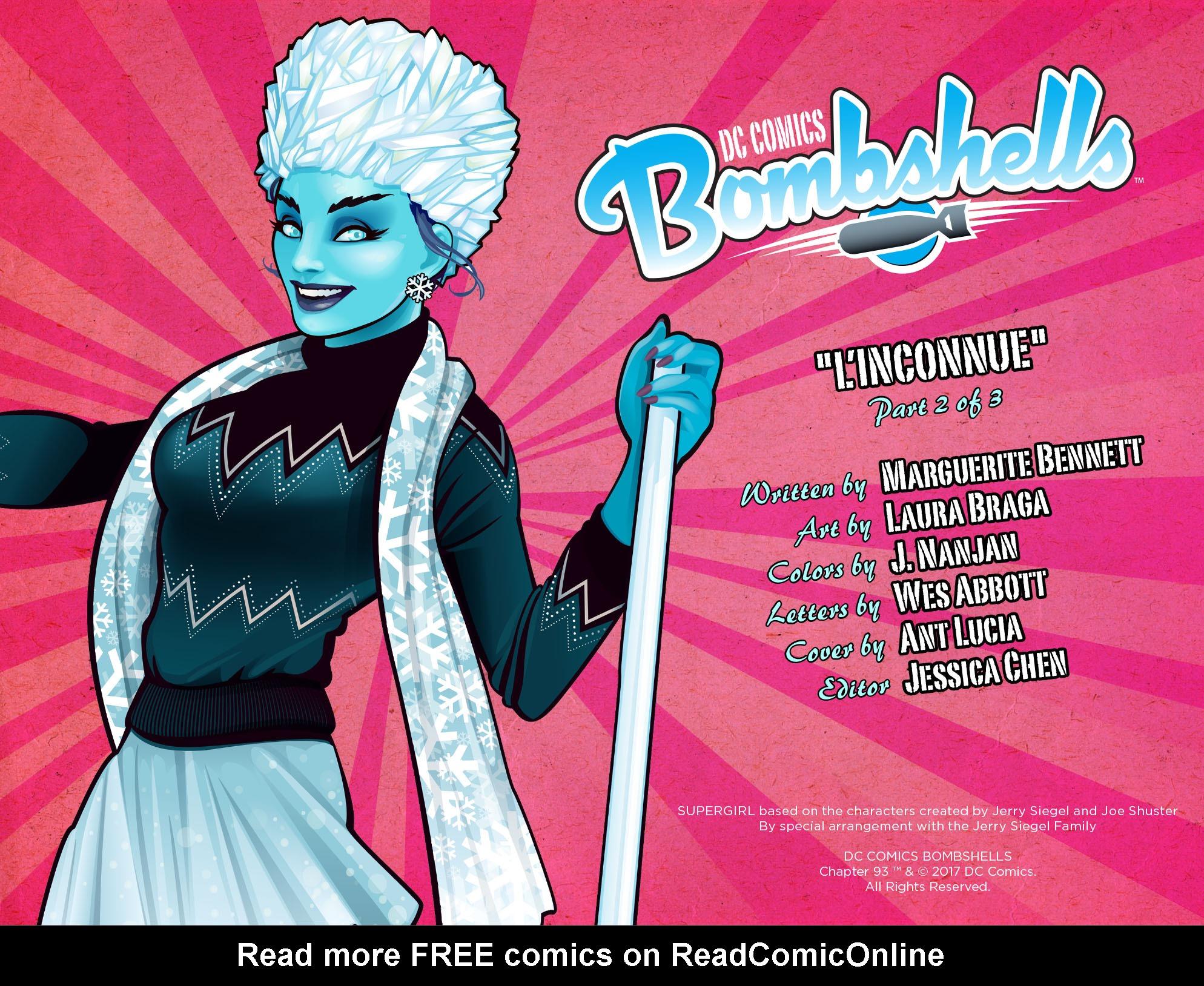 Read online DC Comics: Bombshells comic -  Issue #93 - 3