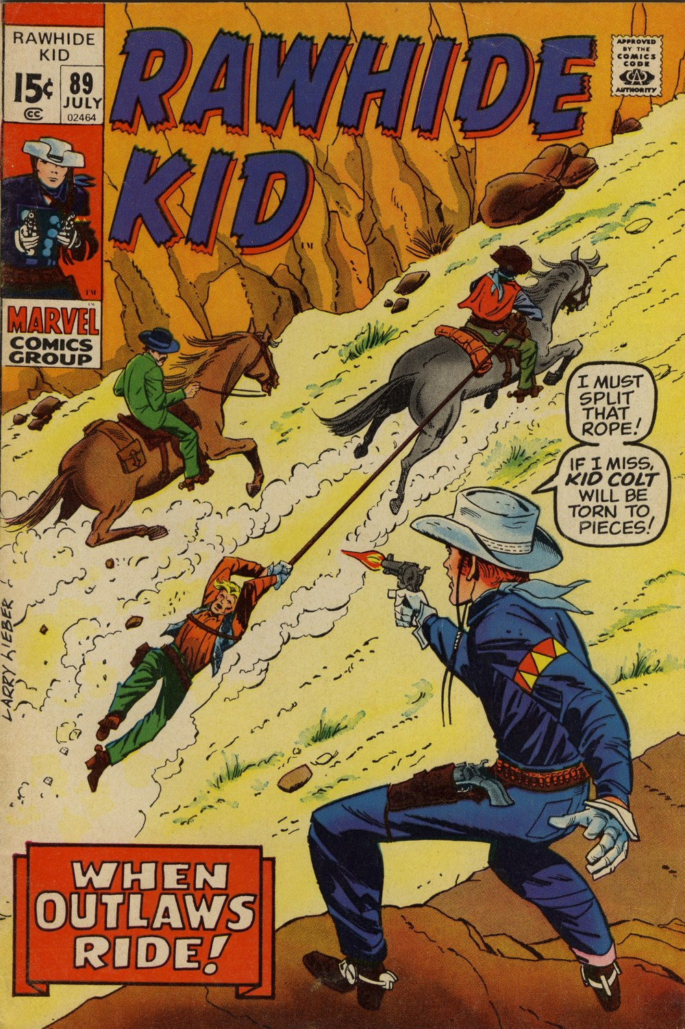 The Rawhide Kid (1955) issue 89 - Page 1