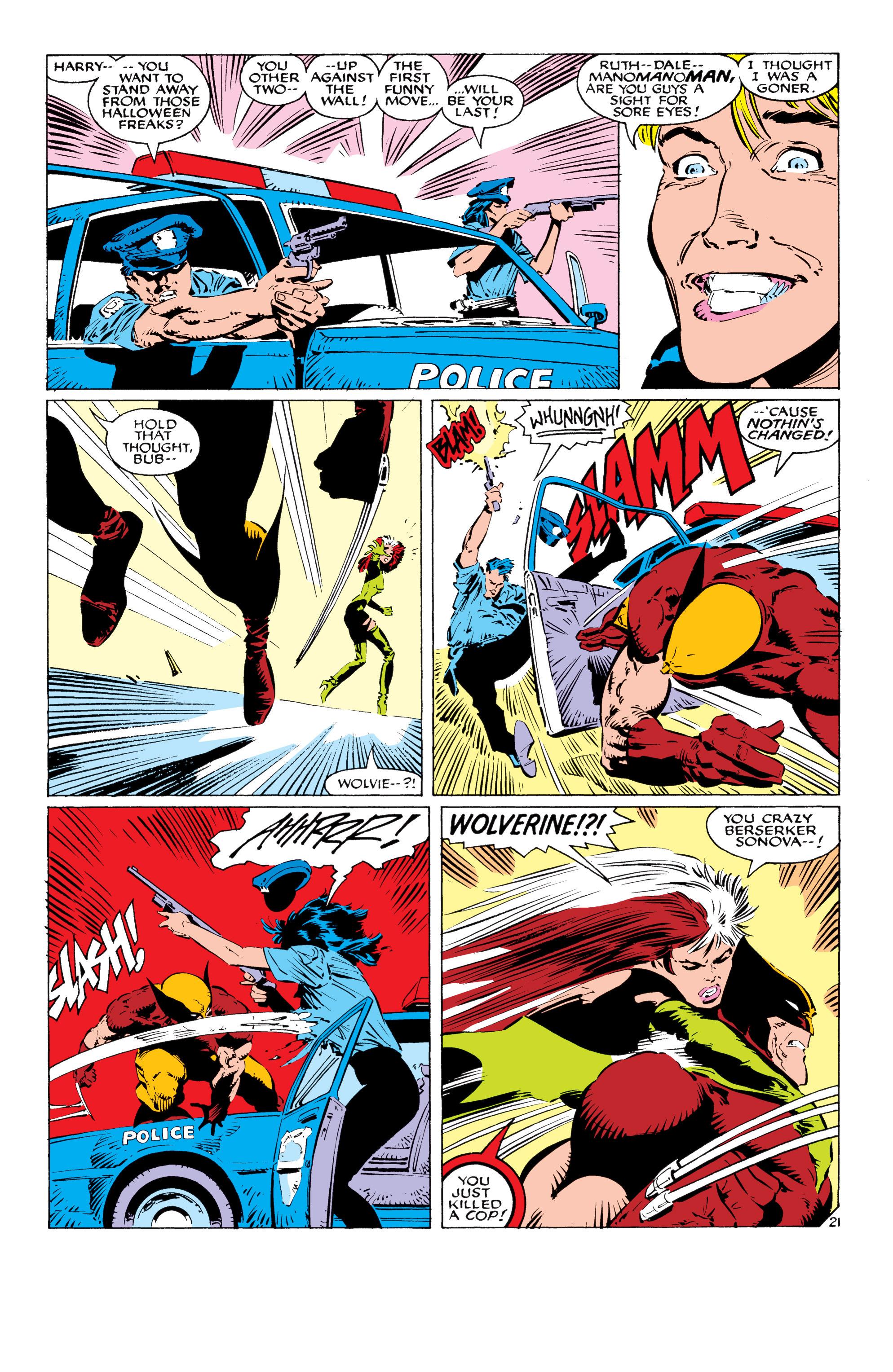 Read online Uncanny X-Men (1963) comic -  Issue #232 - 22