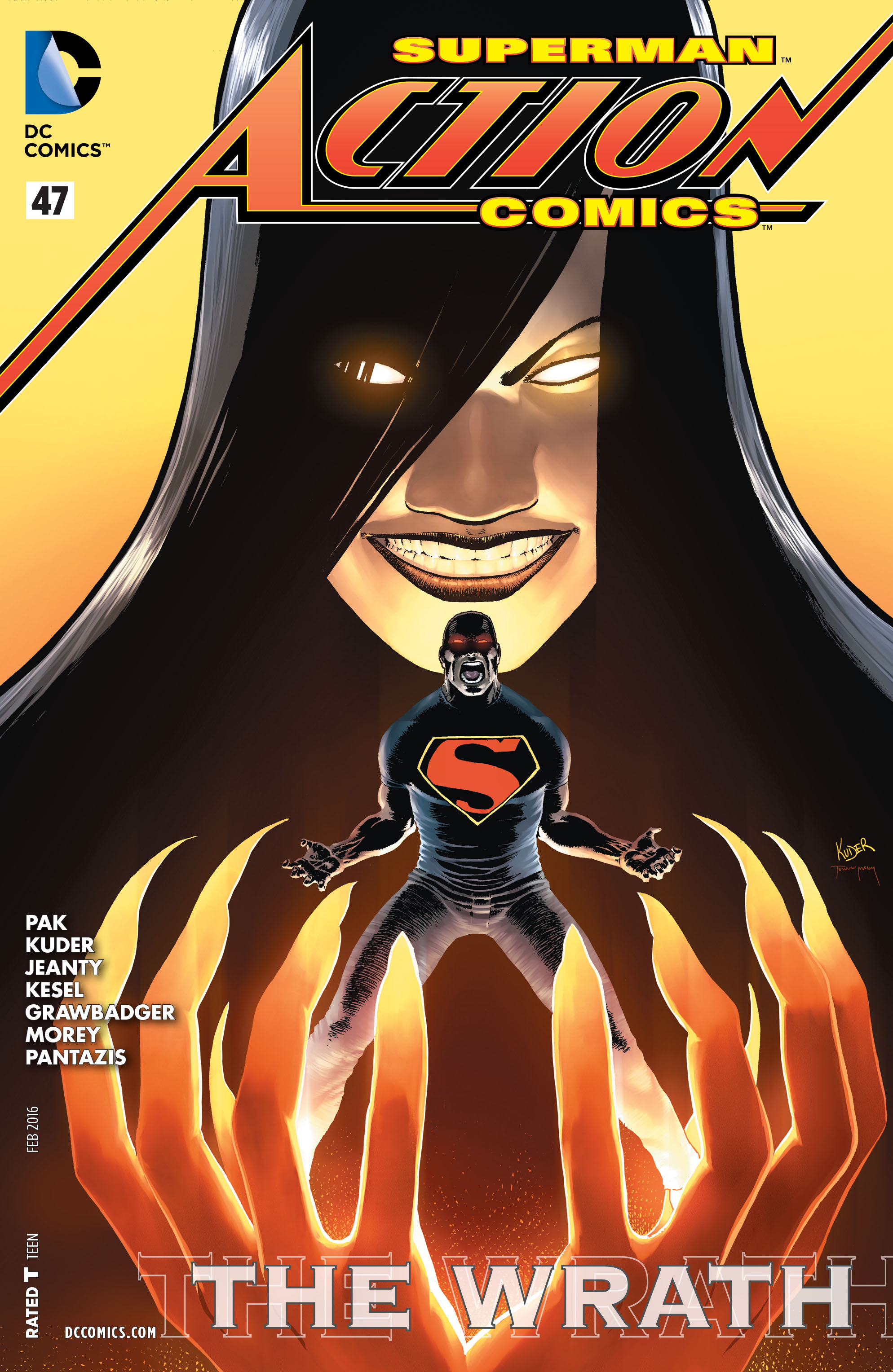 Read online Action Comics (2011) comic -  Issue #47 - 1