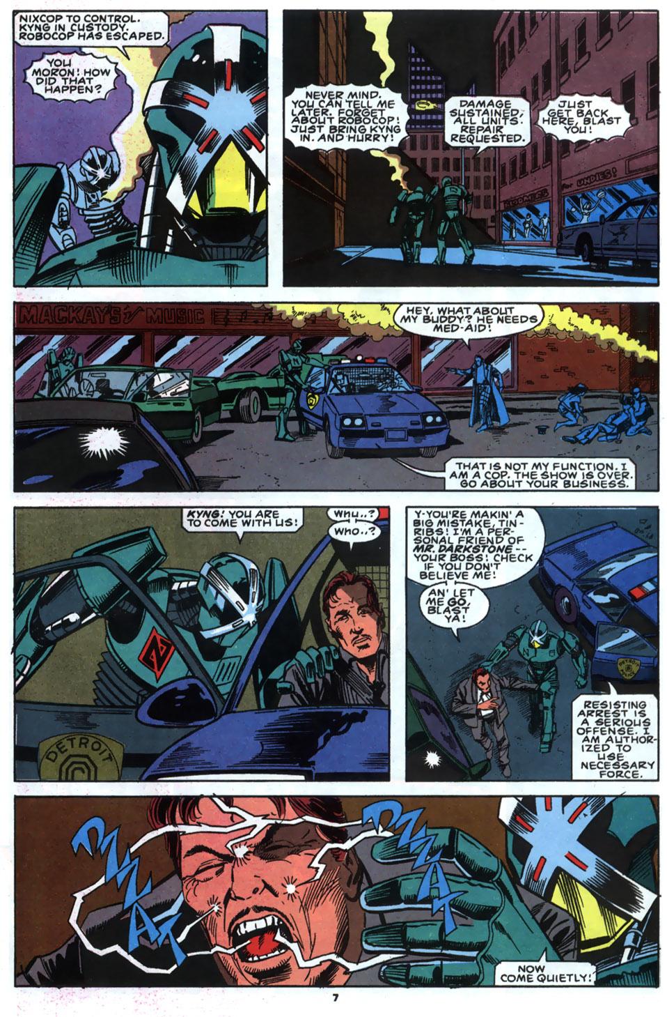 Read online Robocop (1990) comic -  Issue #2 - 6
