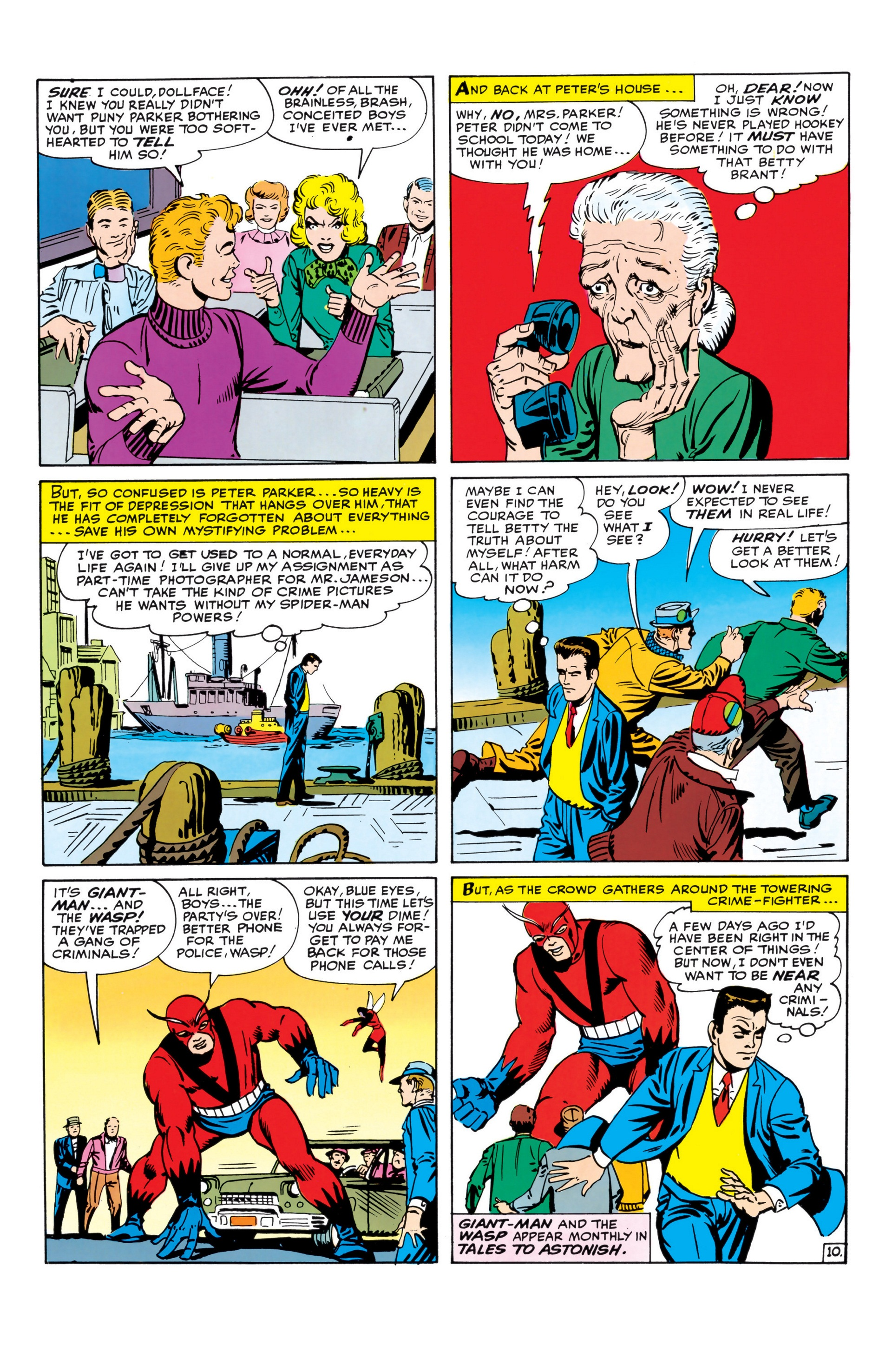 The Amazing Spider-Man (1963) _Annual_1 Page 10