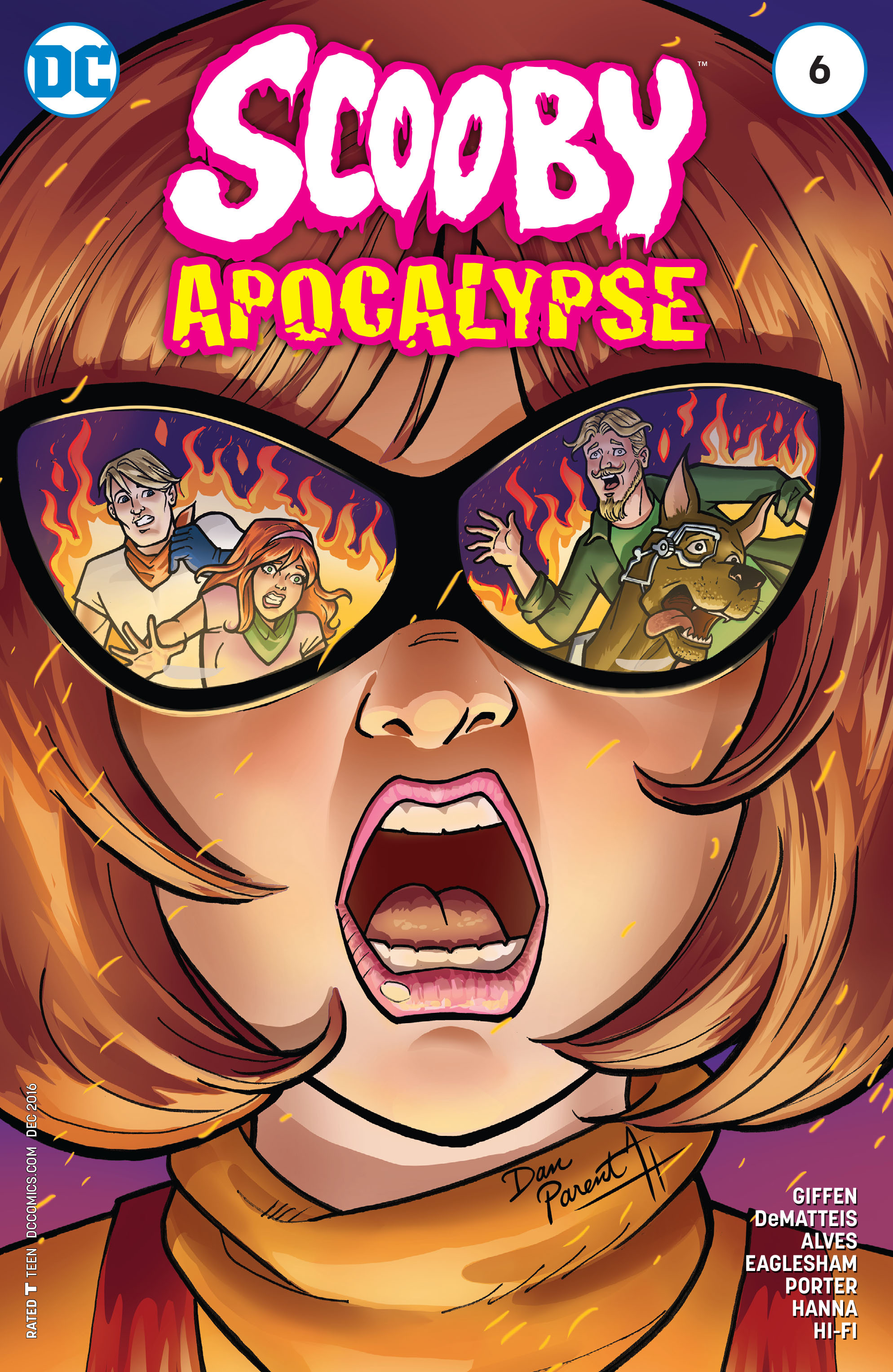 Read online Scooby Apocalypse comic -  Issue #6 - 3