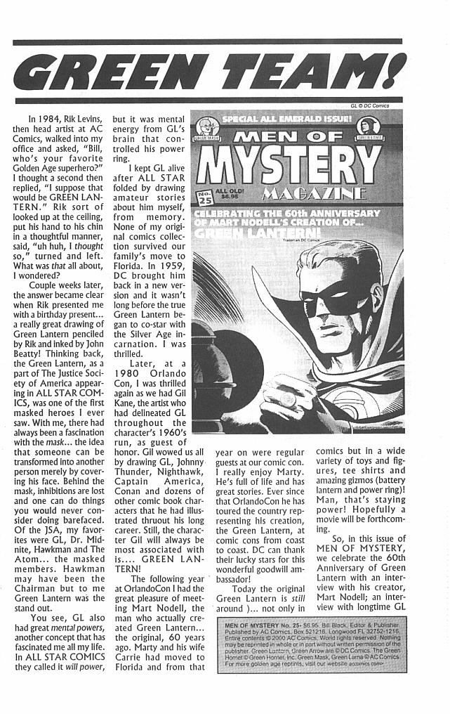 Read online Men of Mystery Comics comic -  Issue #25 - 3
