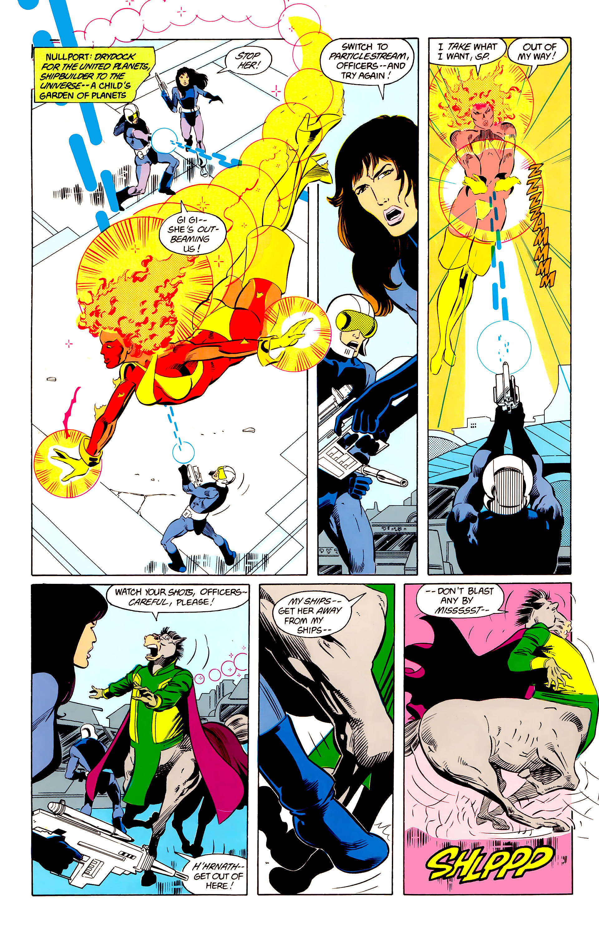 Legion of Super-Heroes (1984) 24 Page 18