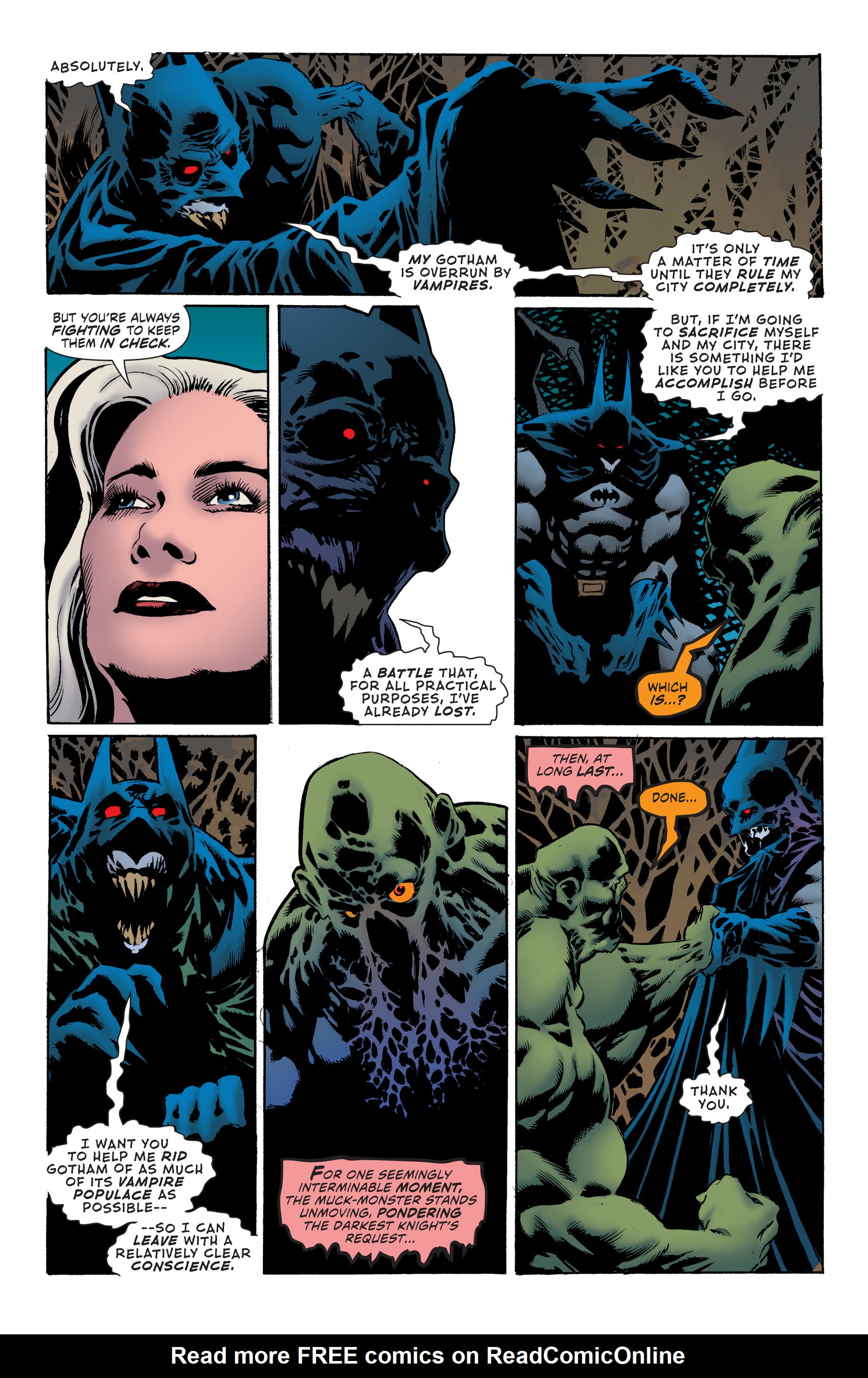 Read online Convergence Swamp Thing comic -  Issue #2 - 9