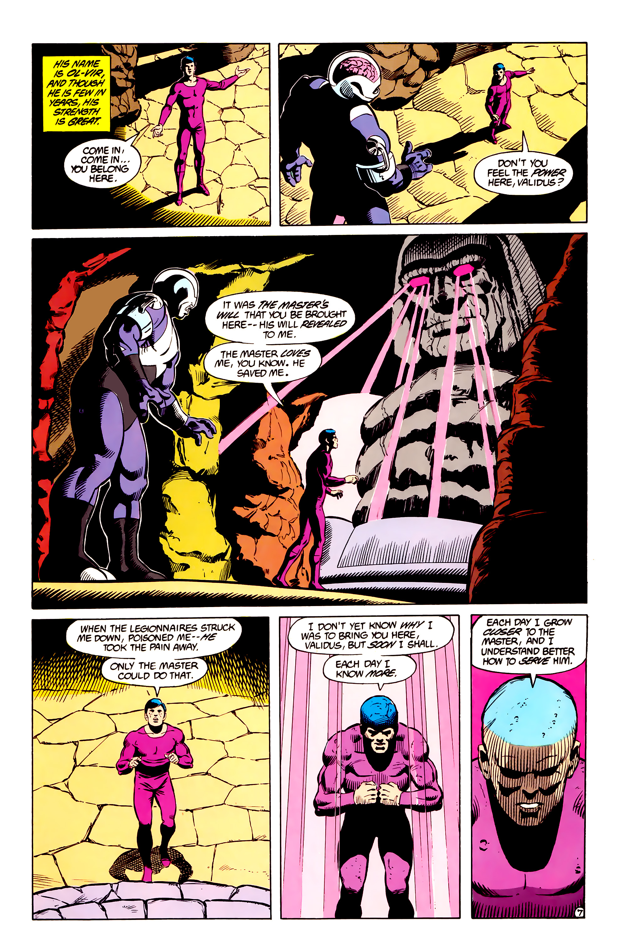 Legion of Super-Heroes (1984) _Annual_2 Page 8