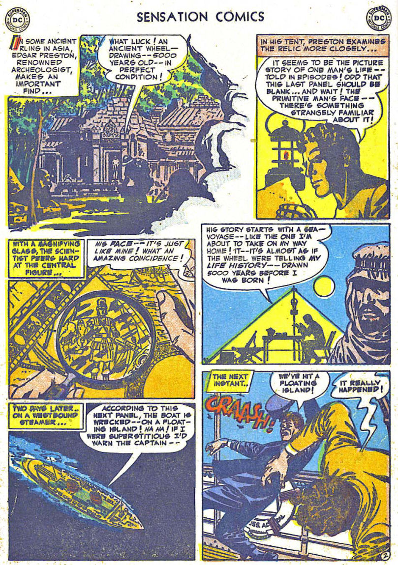 Read online Sensation (Mystery) Comics comic -  Issue #108 - 4