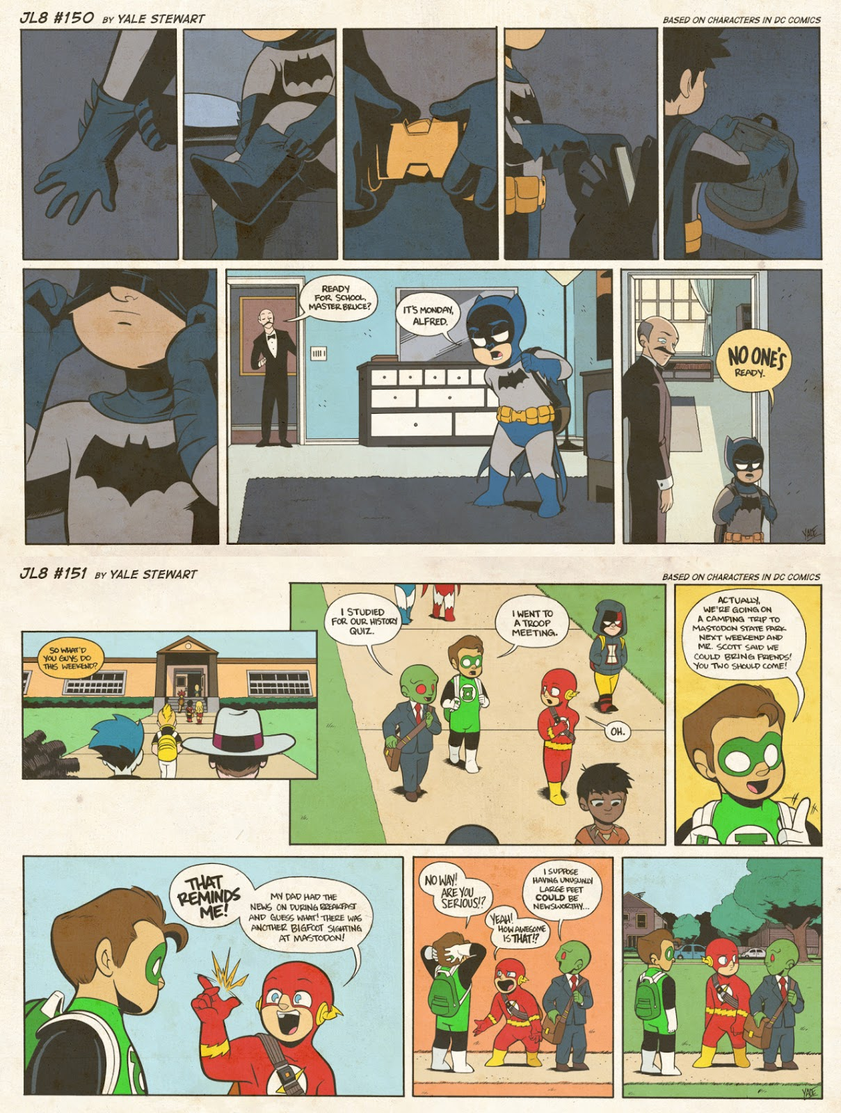 Read online JL8 – The Complete Collection comic -  Issue # TPB (Part 1) - 80