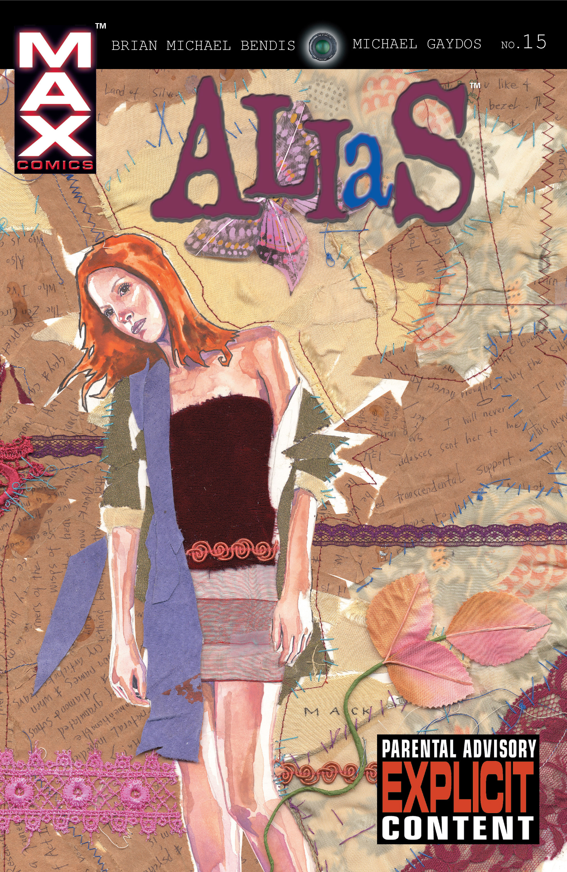 Read online Alias comic -  Issue #15 - 1