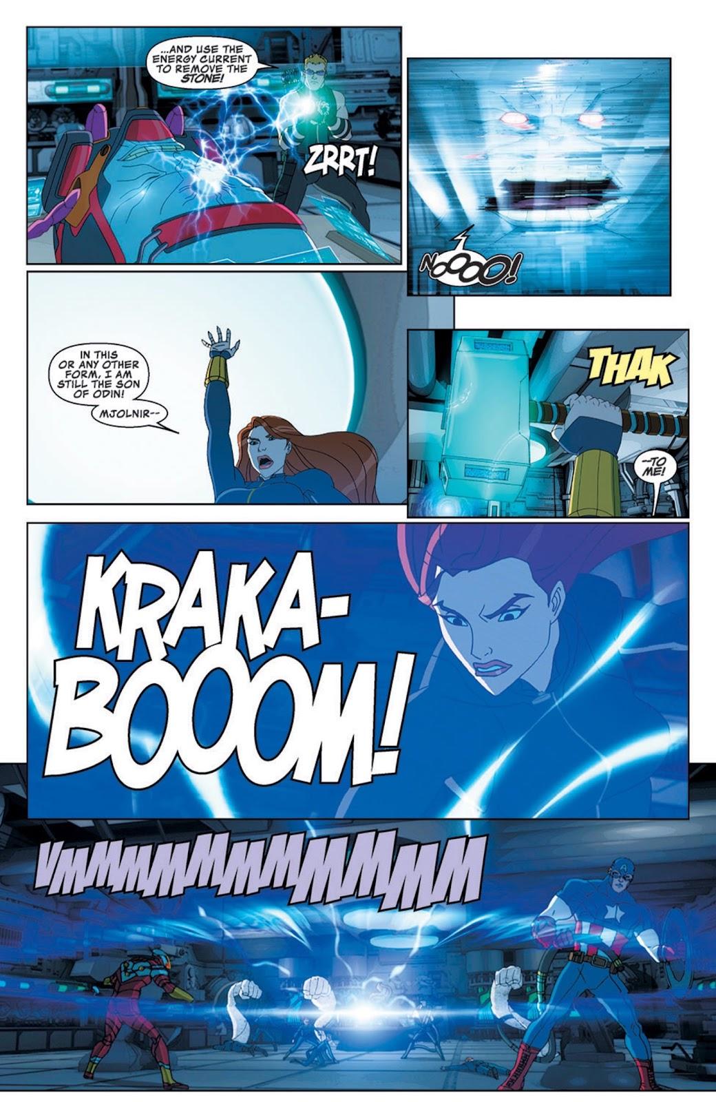 Read online Marvel Universe Avengers Assemble Season 2 comic -  Issue #8 - 28