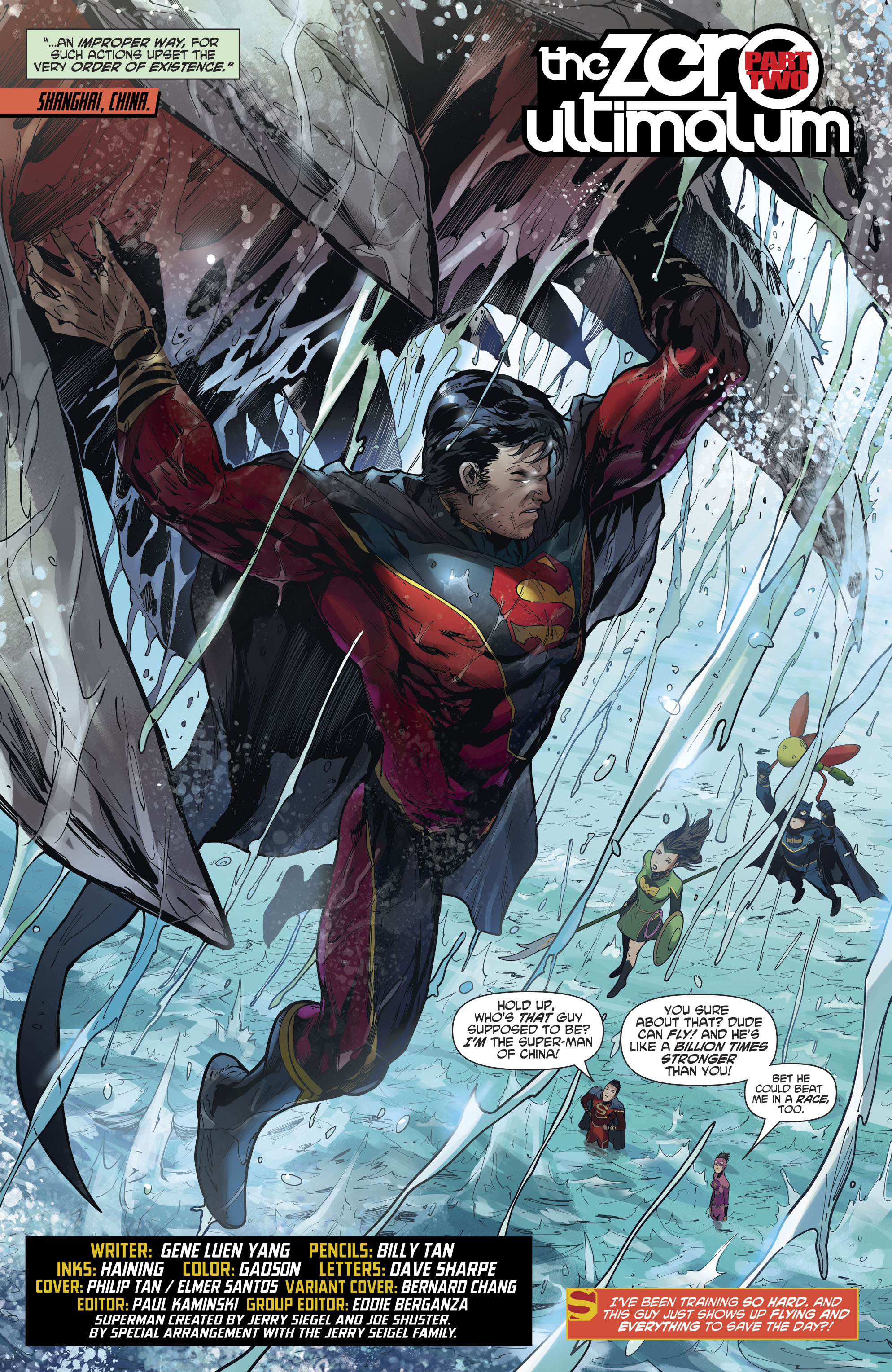 Read online New Super-Man comic -  Issue #12 - 5