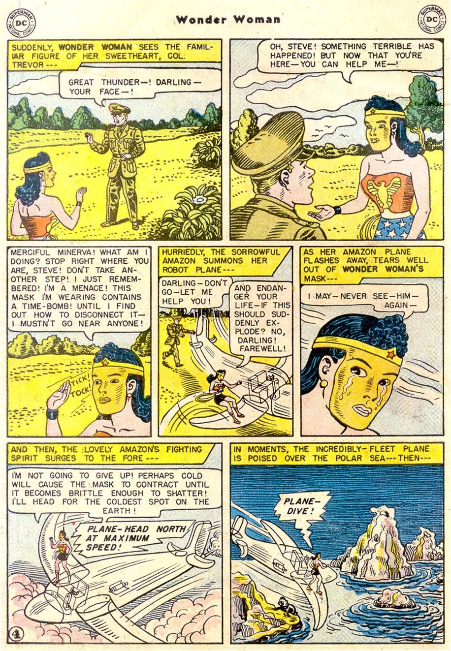 Read online Wonder Woman (1942) comic -  Issue #80 - 6