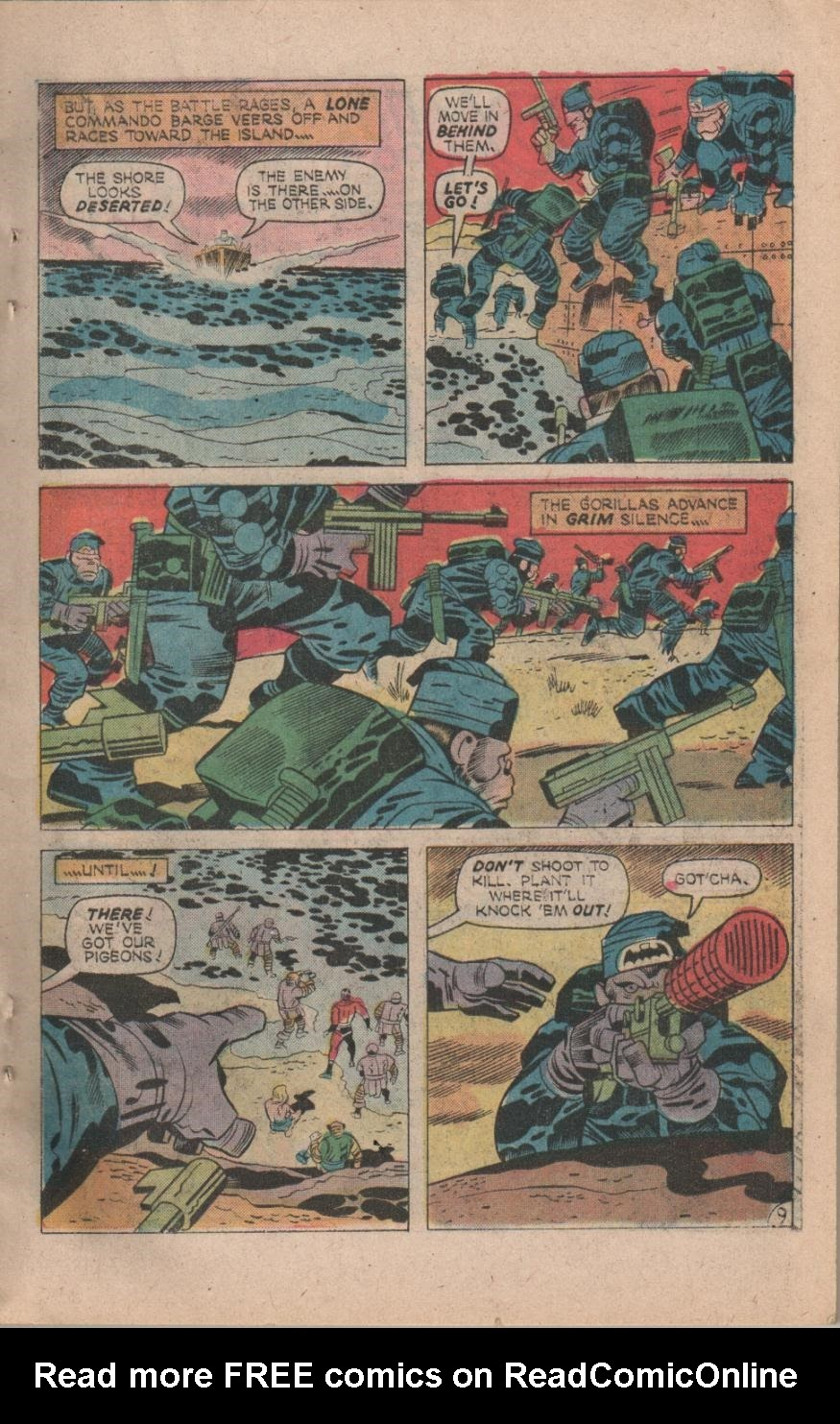 Kamandi, The Last Boy On Earth issue 32 - Page 11