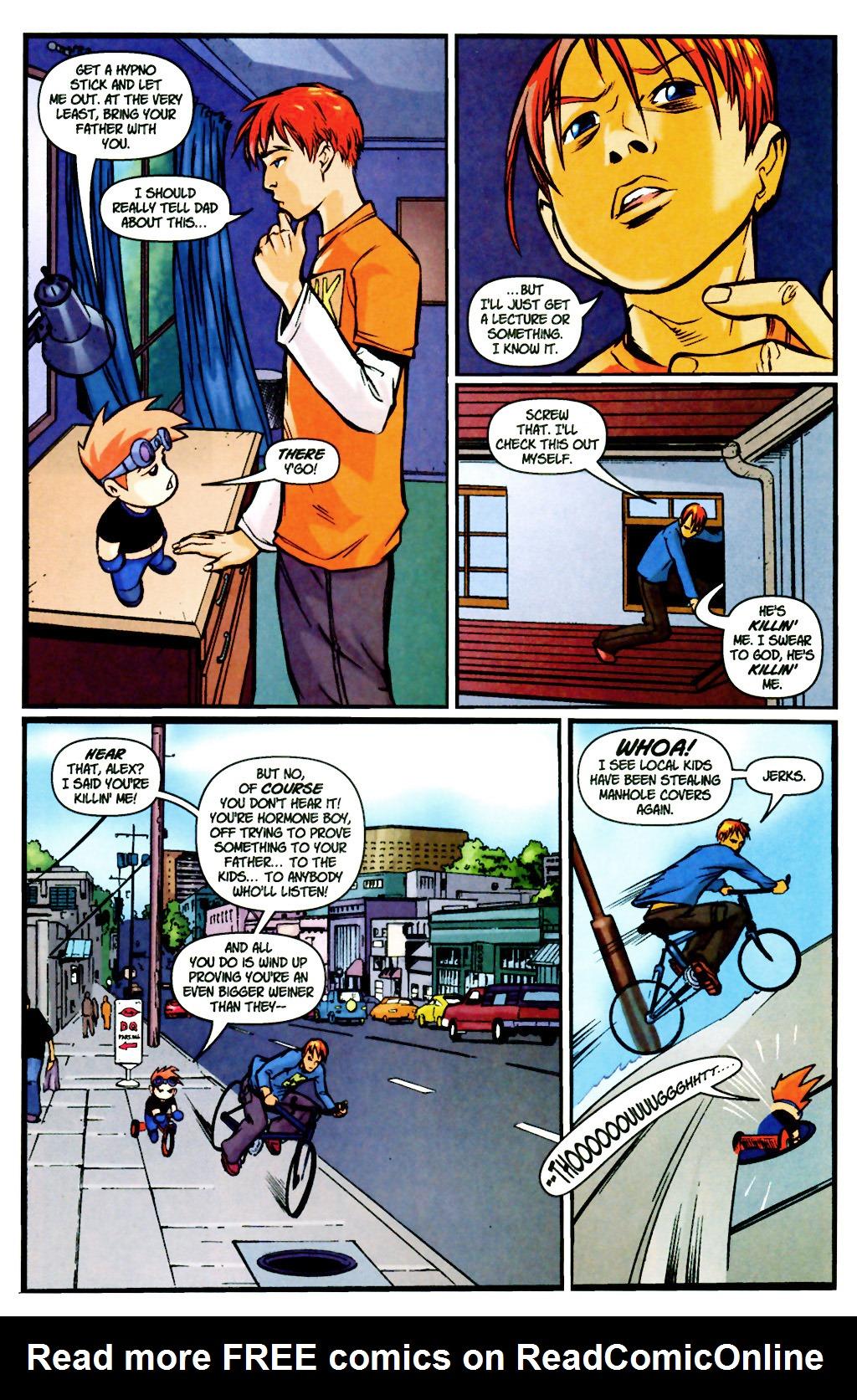 Read online SpyBoy: Final Exam comic -  Issue #2 - 13