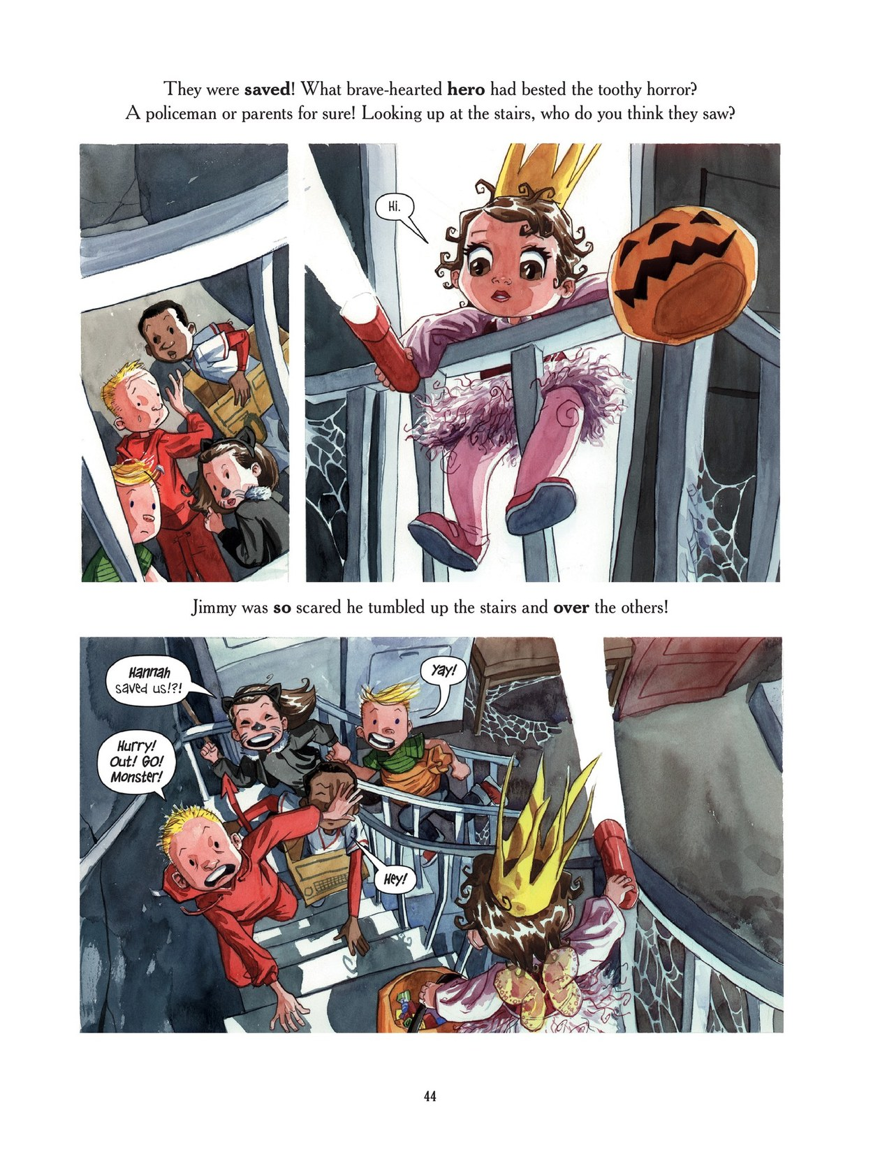 Read online Scary Godmother comic -  Issue # TPB - 44