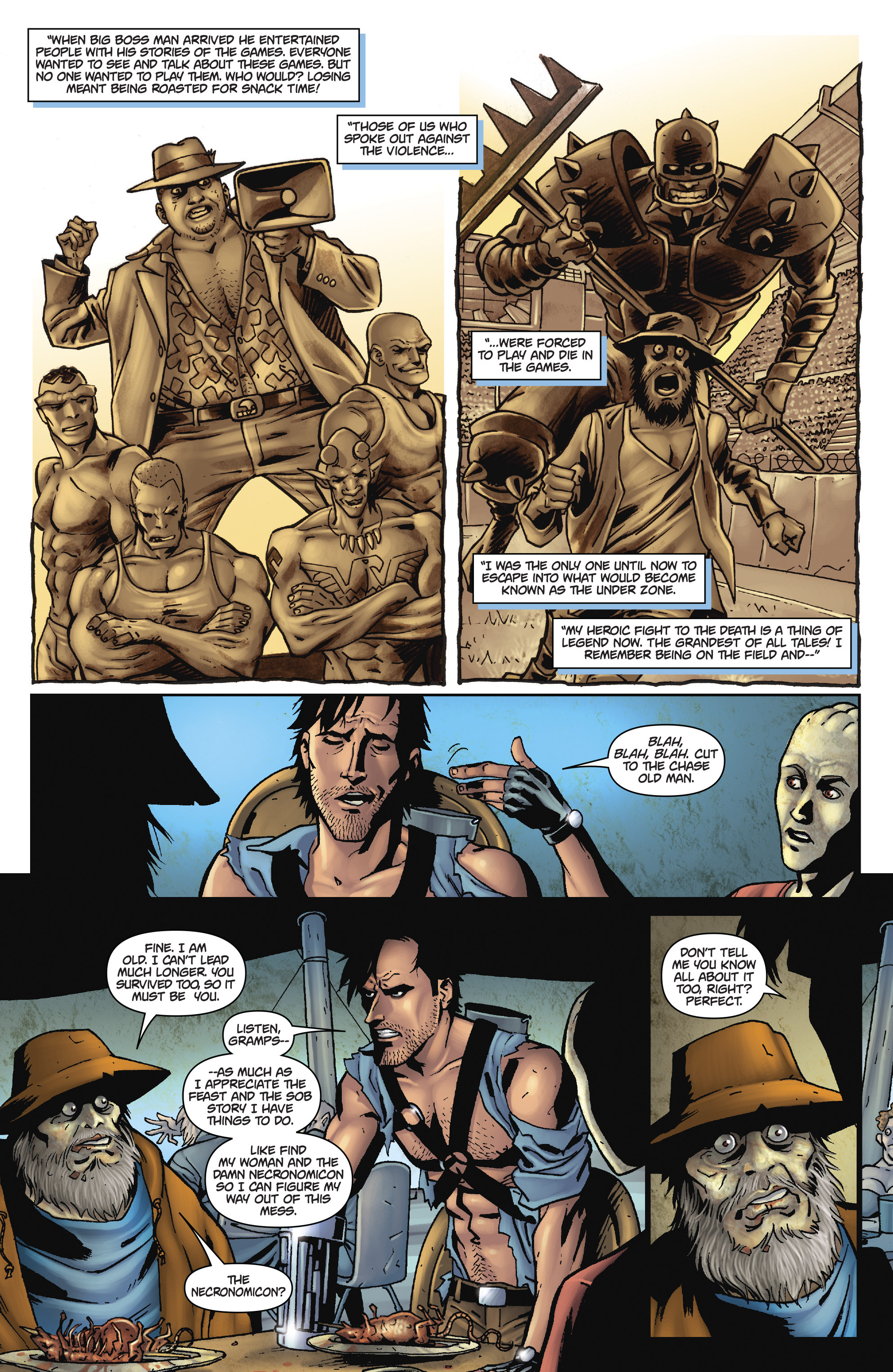 Read online Army of Darkness: The Long Road Home comic -  Issue #Army of Darkness: The Long Road Home TPB - 76