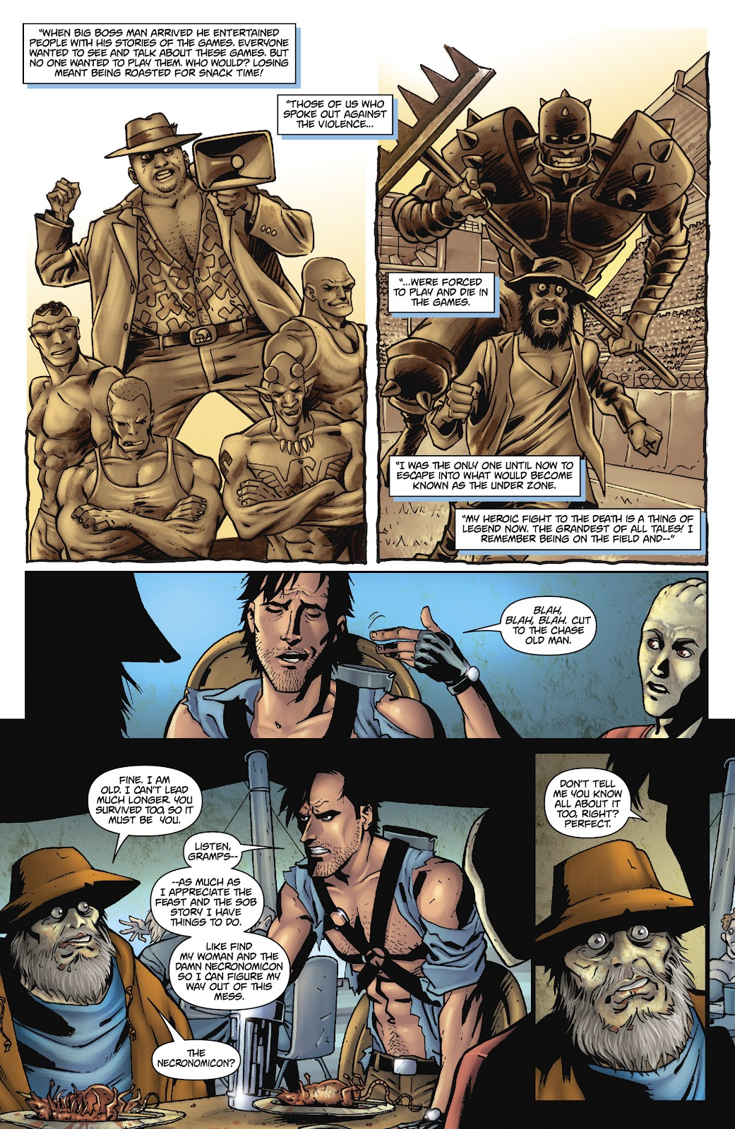 Army of Darkness: The Long Road Home issue TPB - Page 76