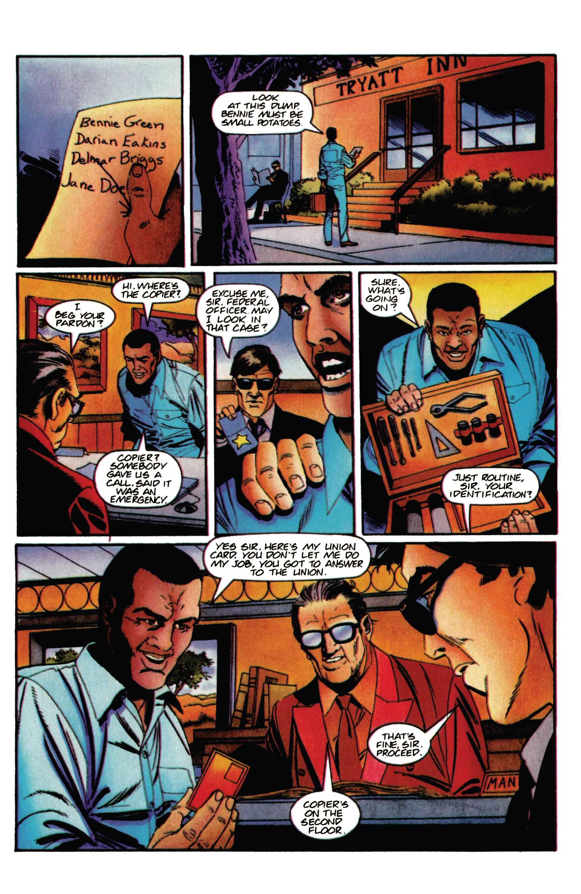 Read online Shadowman (1992) comic -  Issue #35 - 7