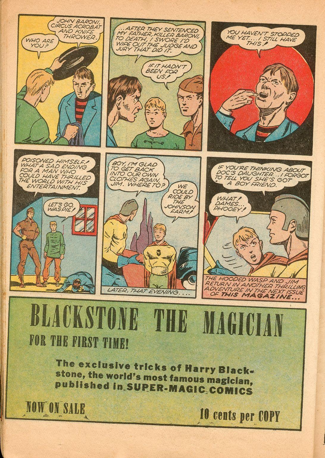Read online Shadow Comics comic -  Issue #11 - 48