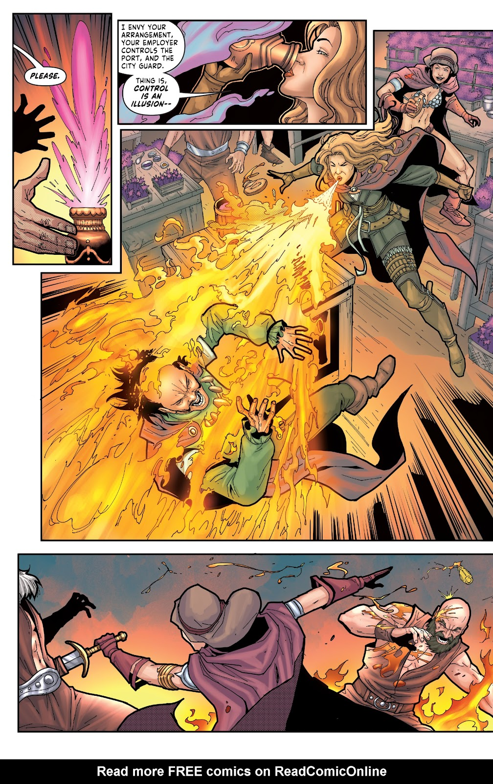 Red Sonja: The Price of Blood issue 2 - Page 17
