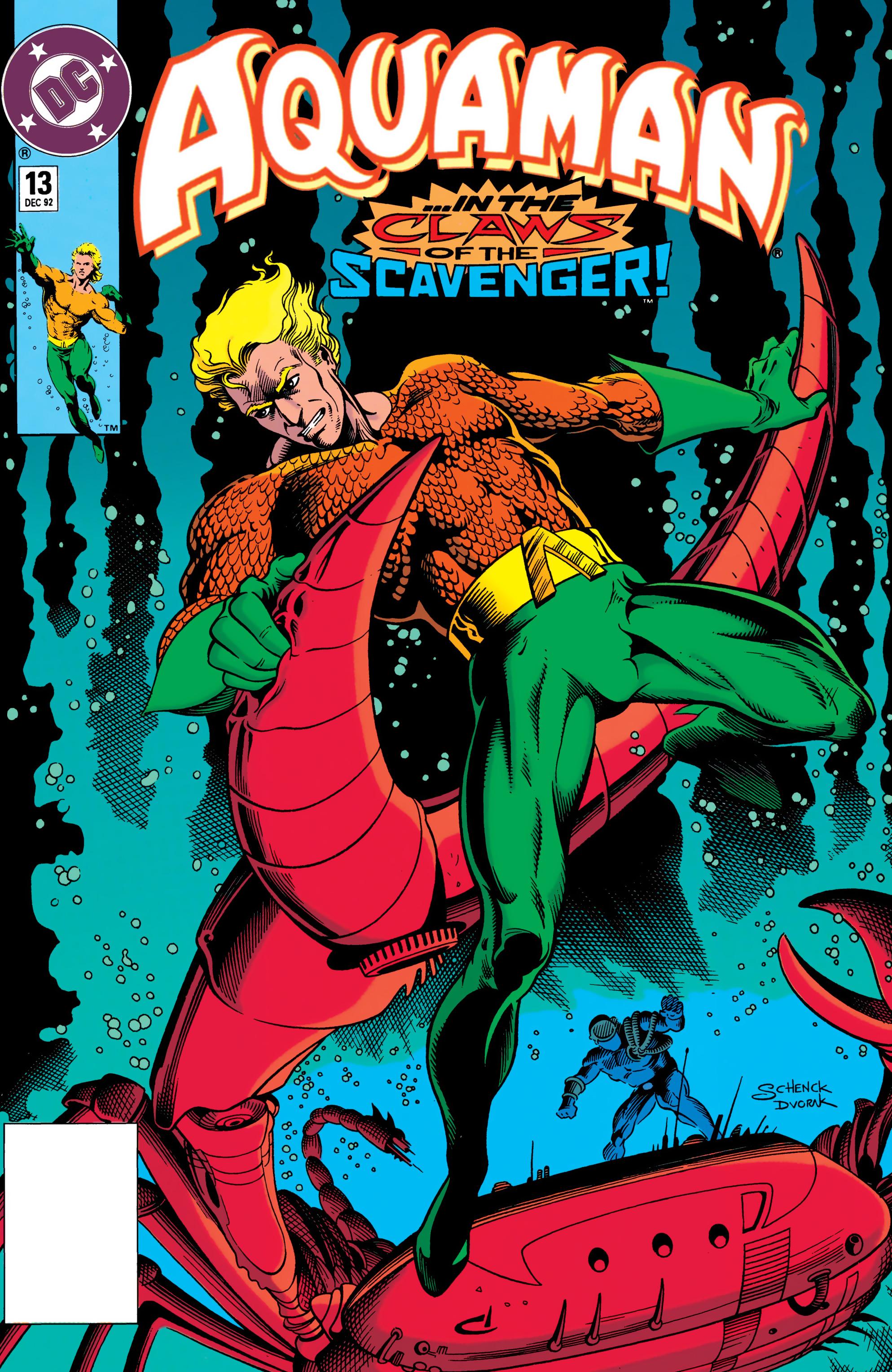 Read online Aquaman (1991) comic -  Issue #13 - 1