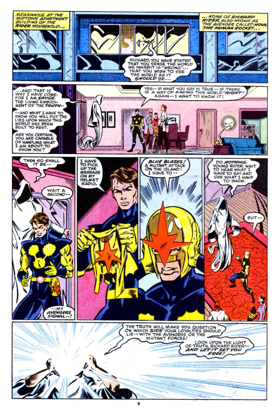 The New Warriors Issue #12 #16 - English 8