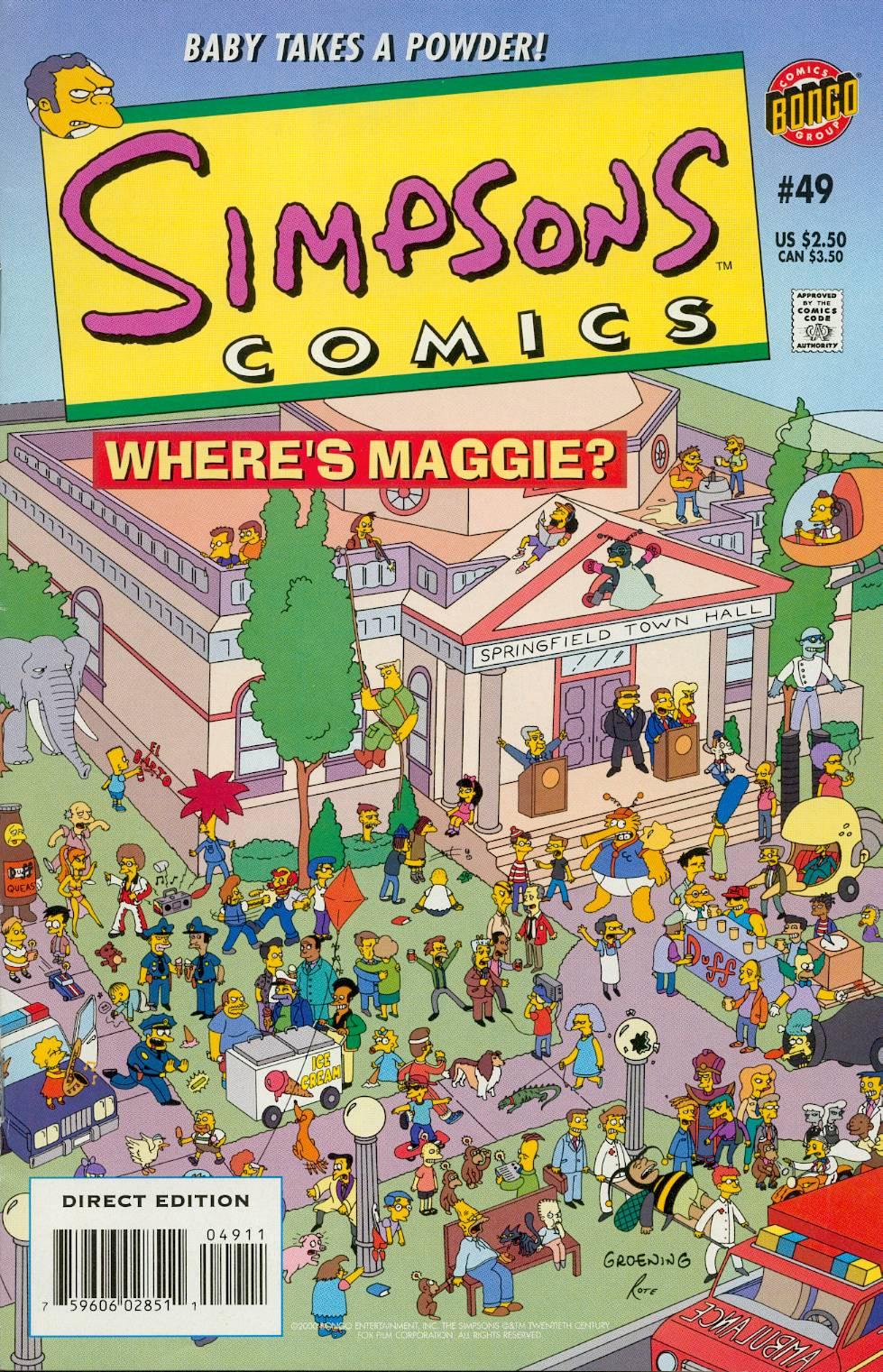 Read online Simpsons Comics comic -  Issue #49 - 1