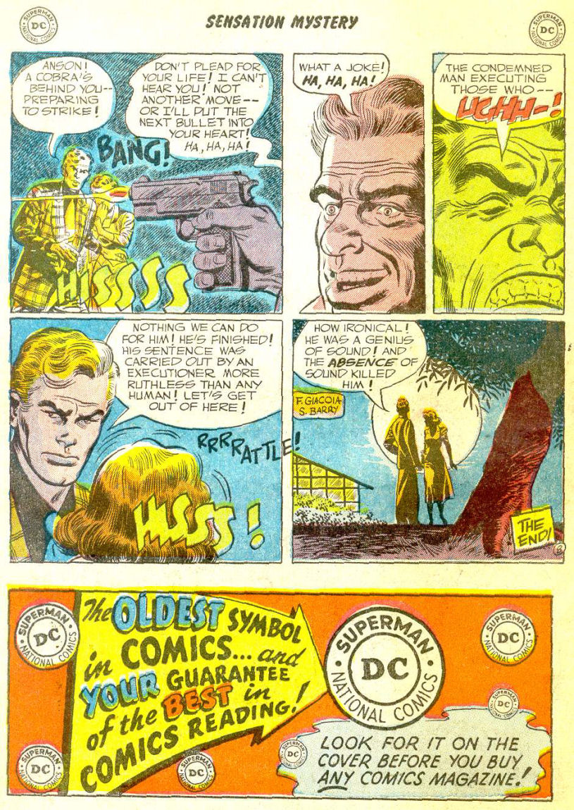 Read online Sensation (Mystery) Comics comic -  Issue #111 - 34