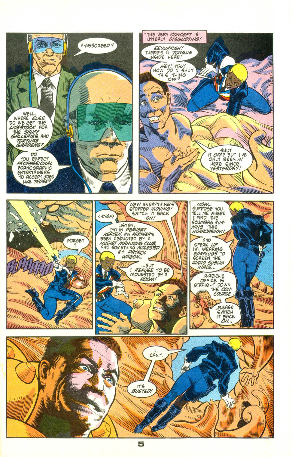 Read online American Flagg! comic -  Issue #25 - 28