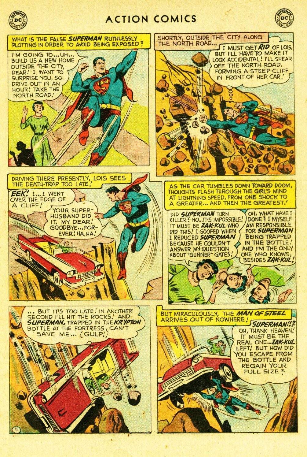 Read online Action Comics (1938) comic -  Issue #245 - 13