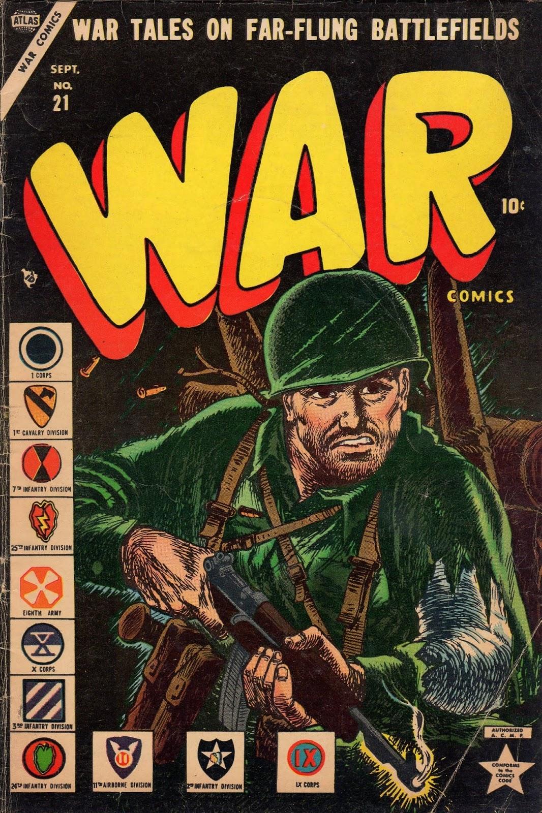 War Comics 21 Page 1