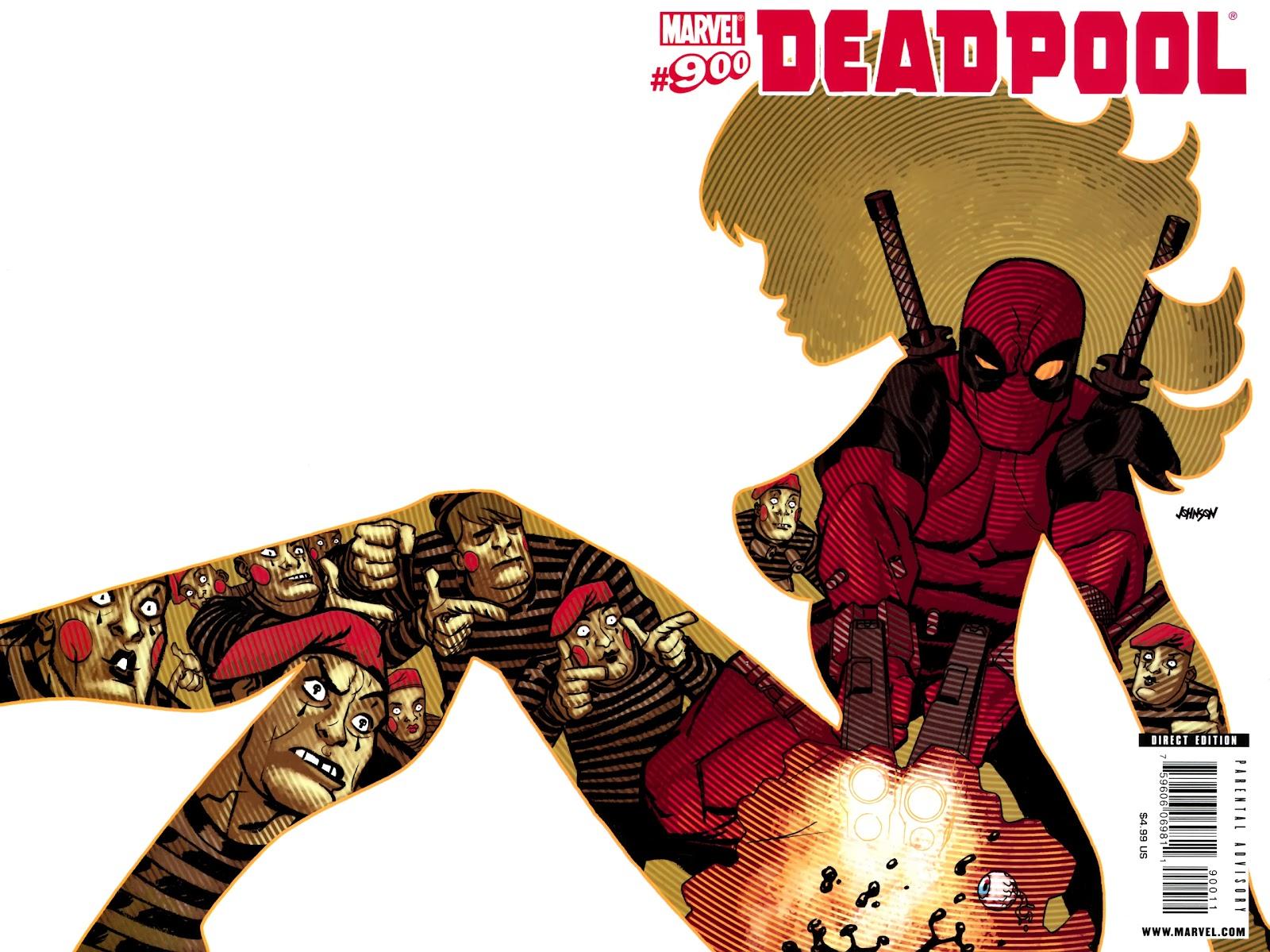 Read online Deadpool (2008) comic -  Issue #900 - 1